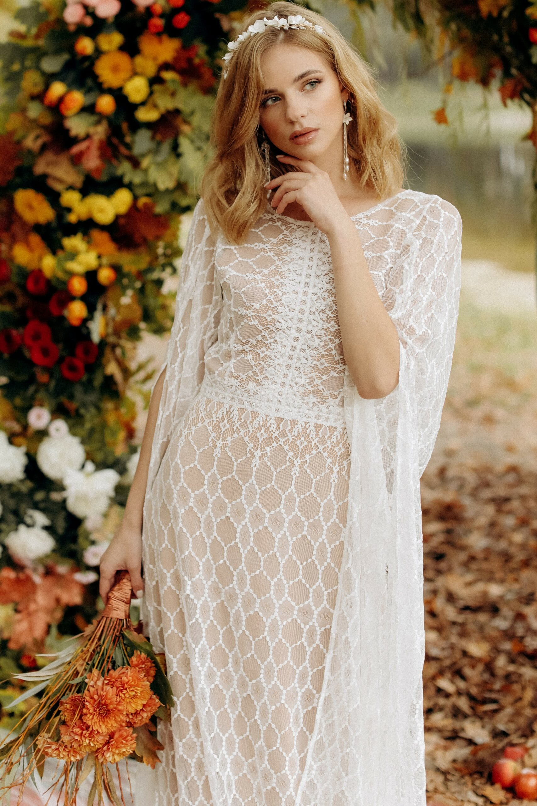Свадебное платье «BLAZE», коллекция «BOHEMIAM OF WILDLIFE», бренд «LORA SONG» №1