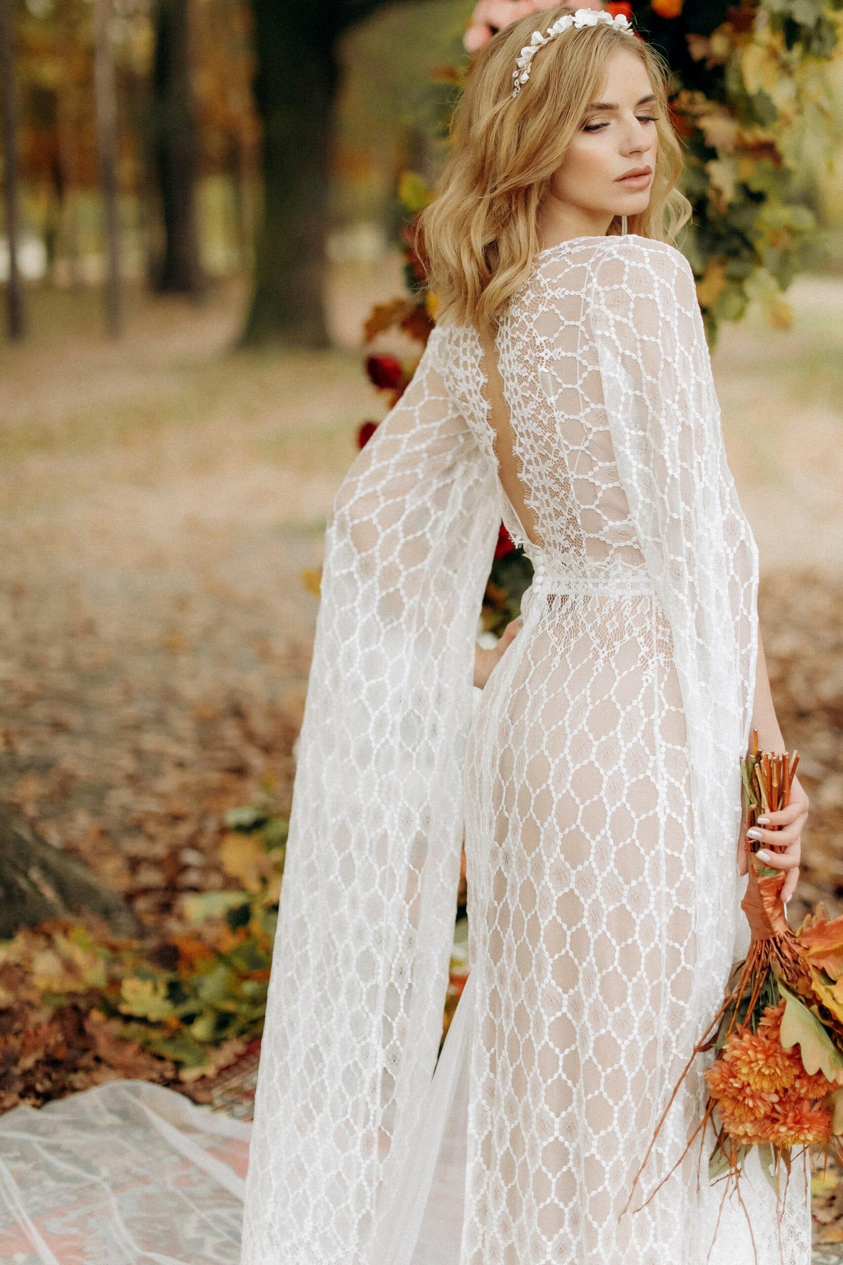 Свадебное платье «BLAZE», коллекция «BOHEMIAM OF WILDLIFE», бренд «LORA SONG» №2