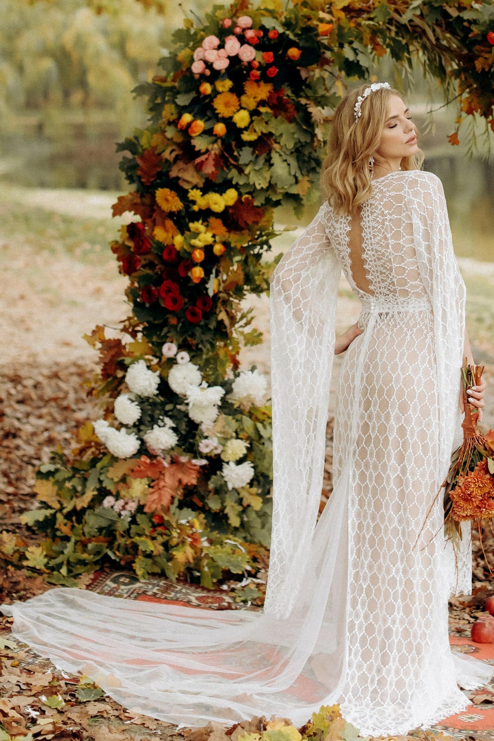 Свадебное платье «BLAZE», коллекция «BOHEMIAM OF WILDLIFE», бренд «LORA SONG» №3