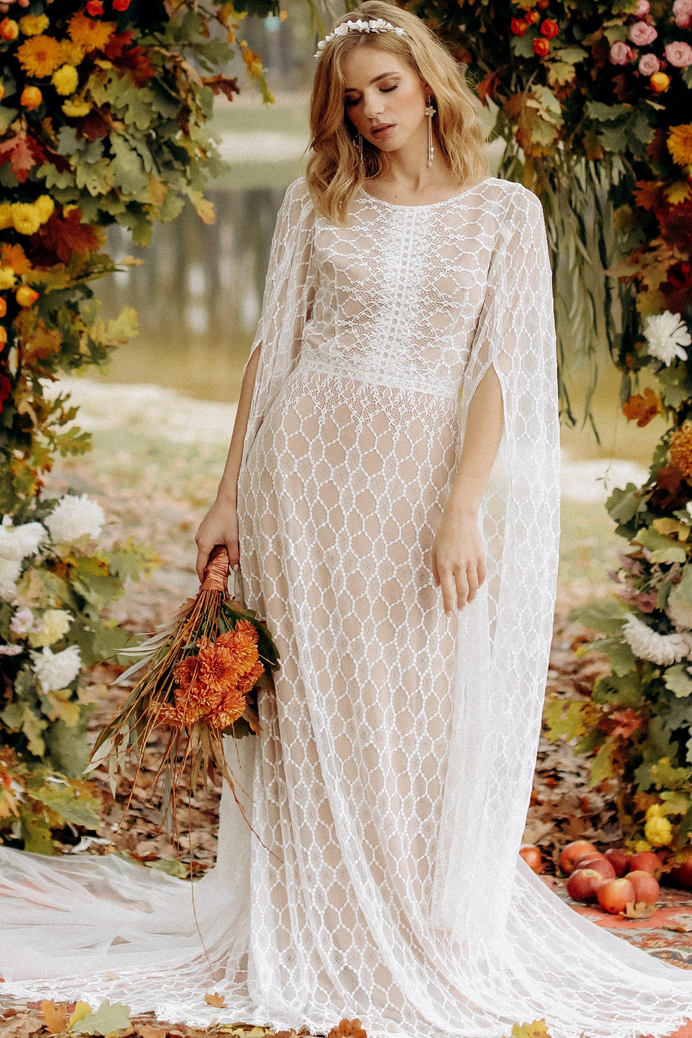 Свадебное платье «BLAZE», коллекция «BOHEMIAM OF WILDLIFE», бренд «LORA SONG» №4