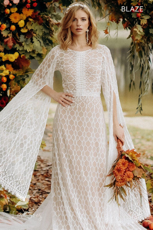 Свадебное платье «BLAZE», коллекция «BOHEMIAM OF WILDLIFE», бренд «LORA SONG» №5
