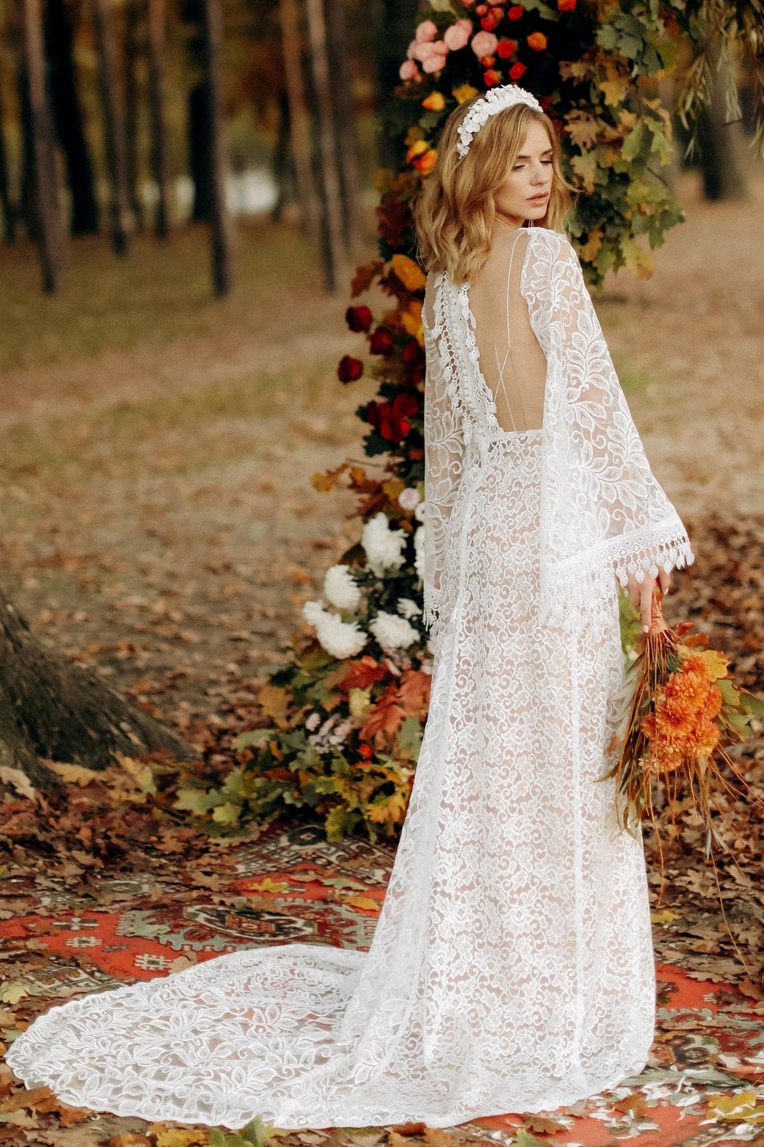 Свадебное платье «HANNA», коллекция «BOHEMIAM OF WILDLIFE», бренд «LORA SONG» №5