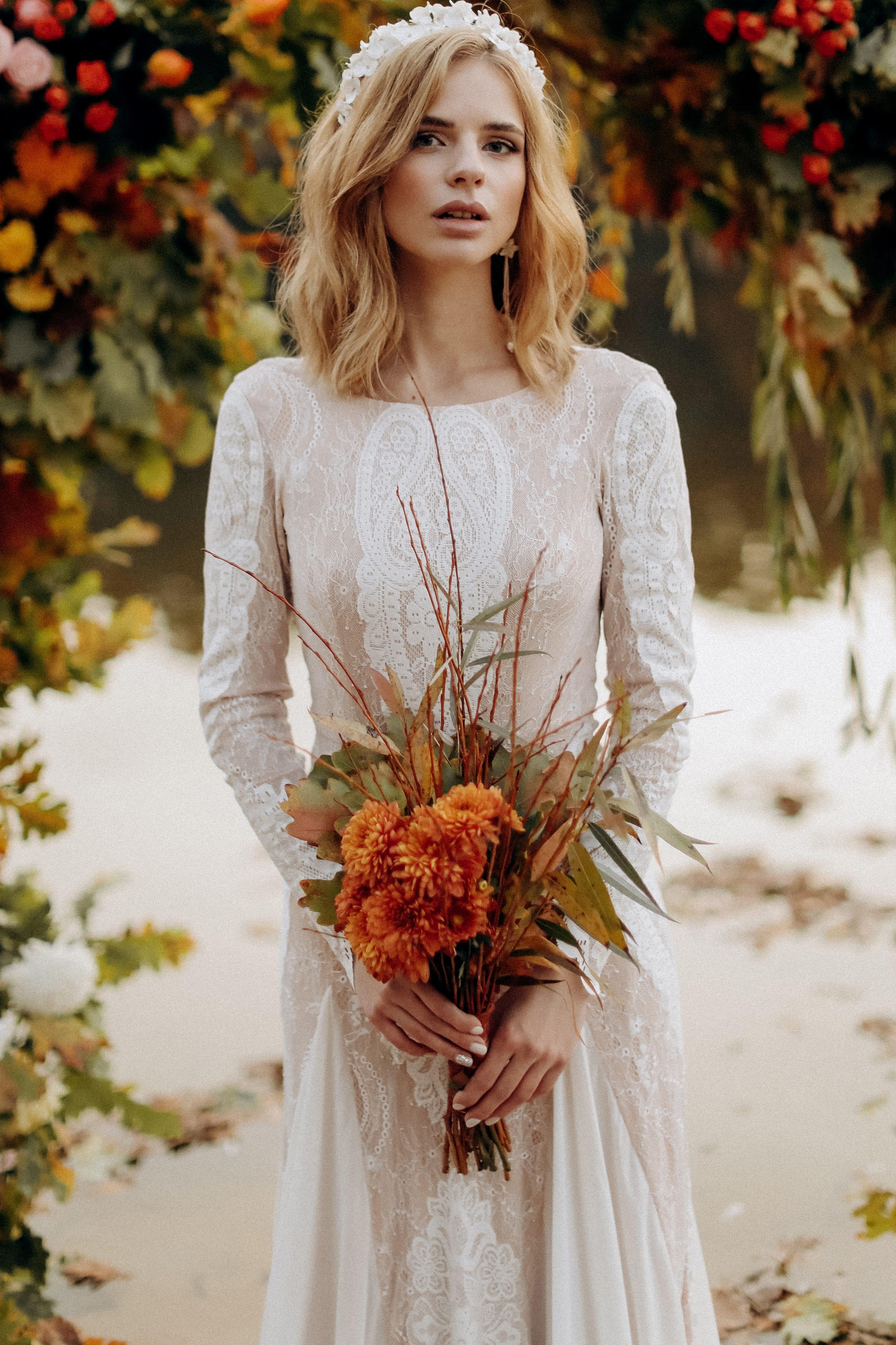 Свадебное платье «JAYA», коллекция «BOHEMIAM OF WILDLIFE», бренд»LORA SONG» №1