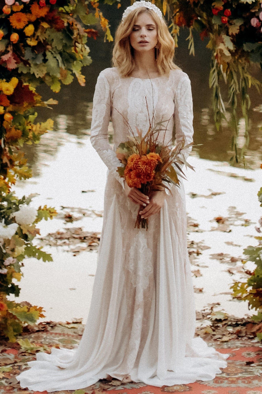 Свадебное платье «JAYA», коллекция «BOHEMIAM OF WILDLIFE», бренд»LORA SONG» №2