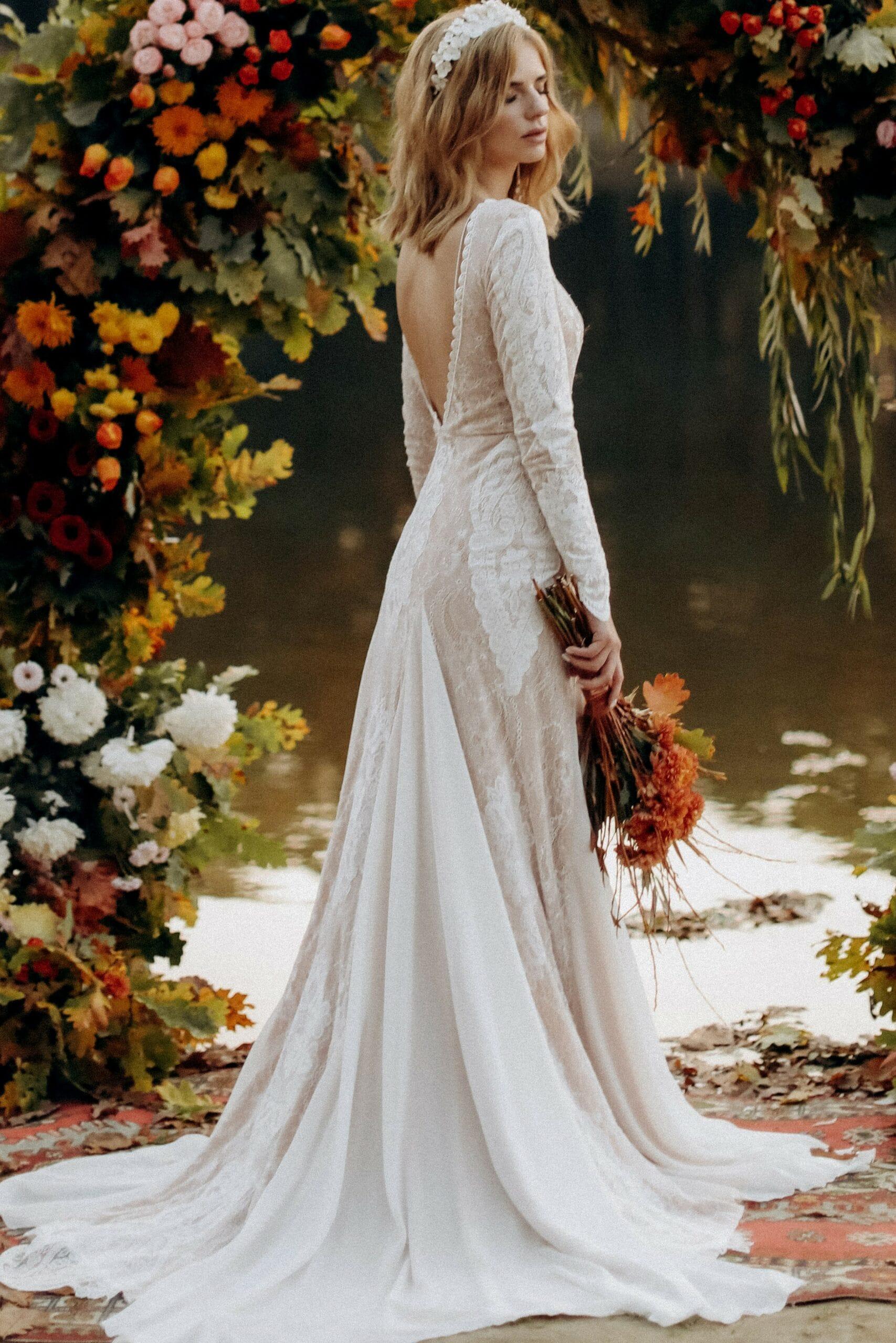 Свадебное платье «JAYA», коллекция «BOHEMIAM OF WILDLIFE», бренд»LORA SONG» №3