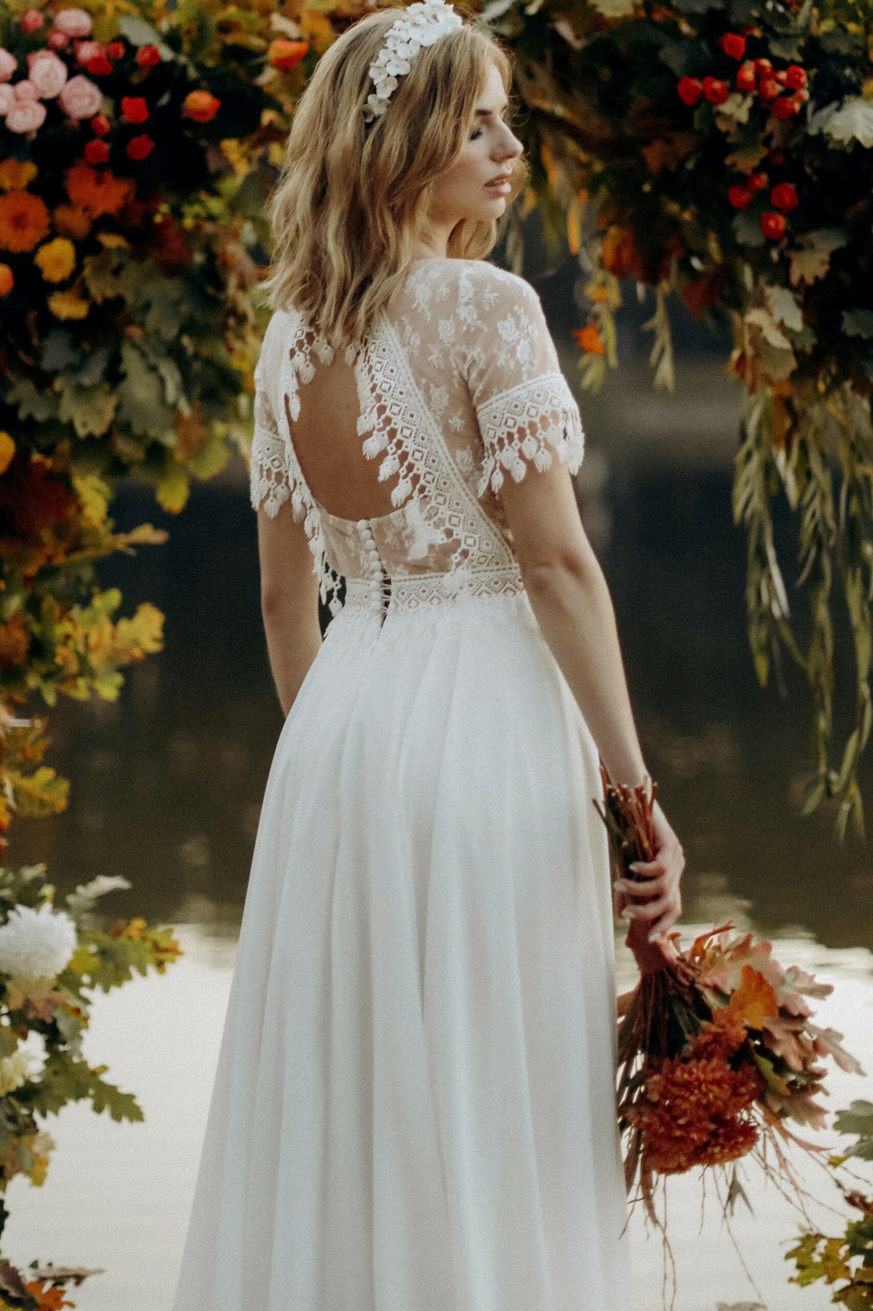 Свадебное платье «KORIN», коллекция «BOHEMIAM OF WILDLIFE», бренд»LORA SONG» №2