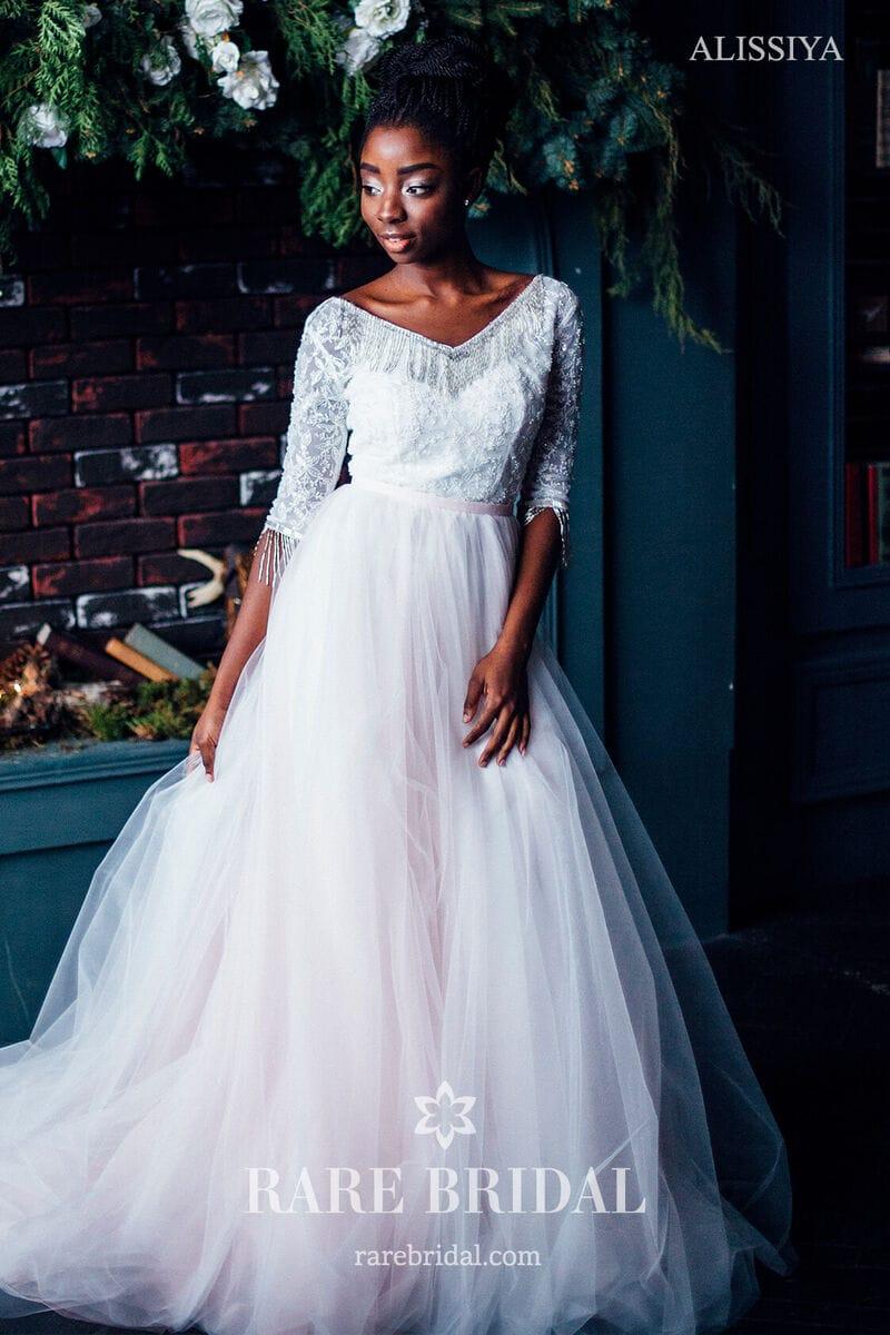 Свадебное платье ALISSIYA, коллекция THE ABSOLUTE LOVE, бренд RARE BRIDAL, фото 5