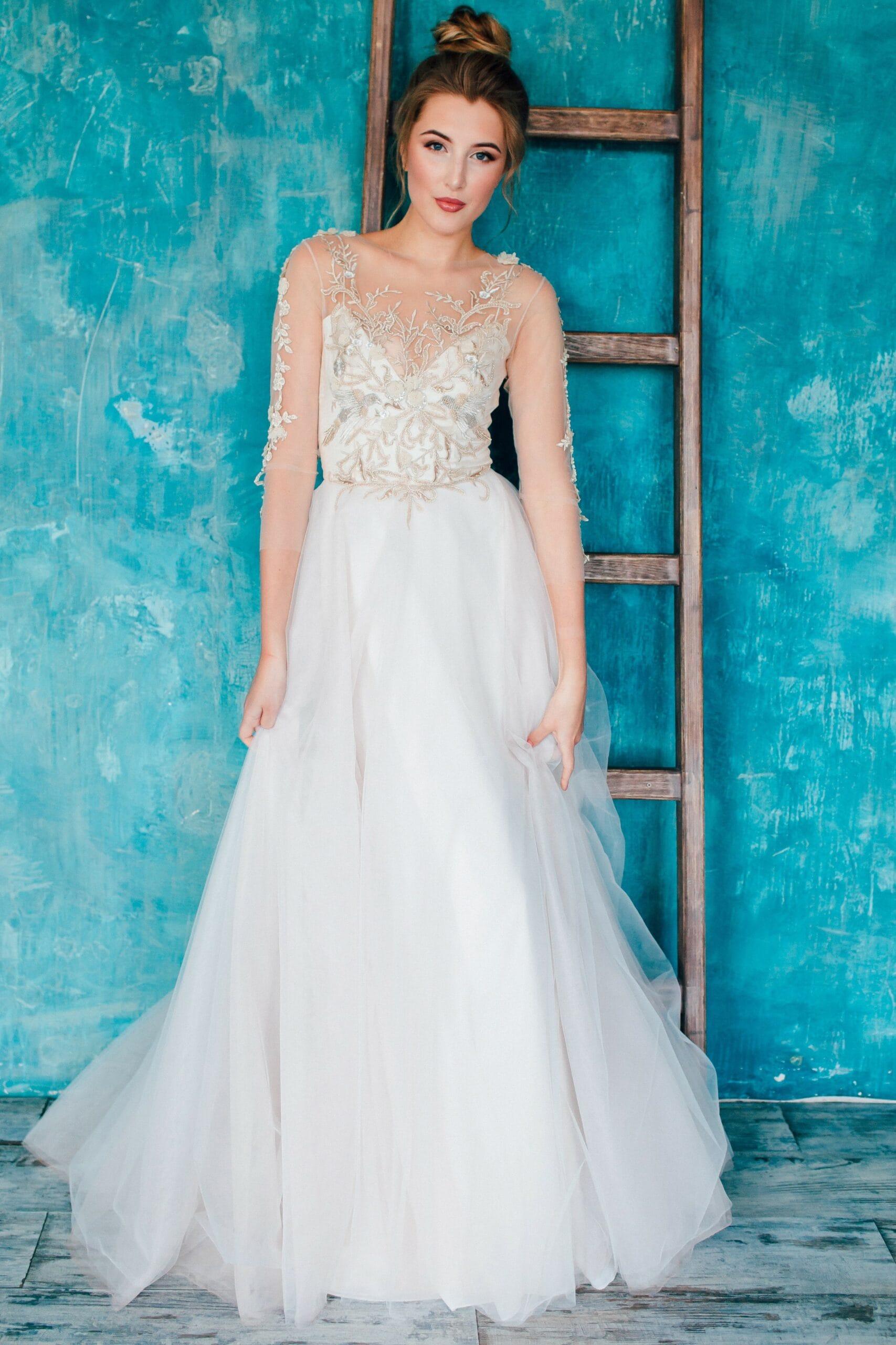 Свадебное платье ARIELA, коллекция THE ANGELS, бренд RARE BRIDAL, фото 2