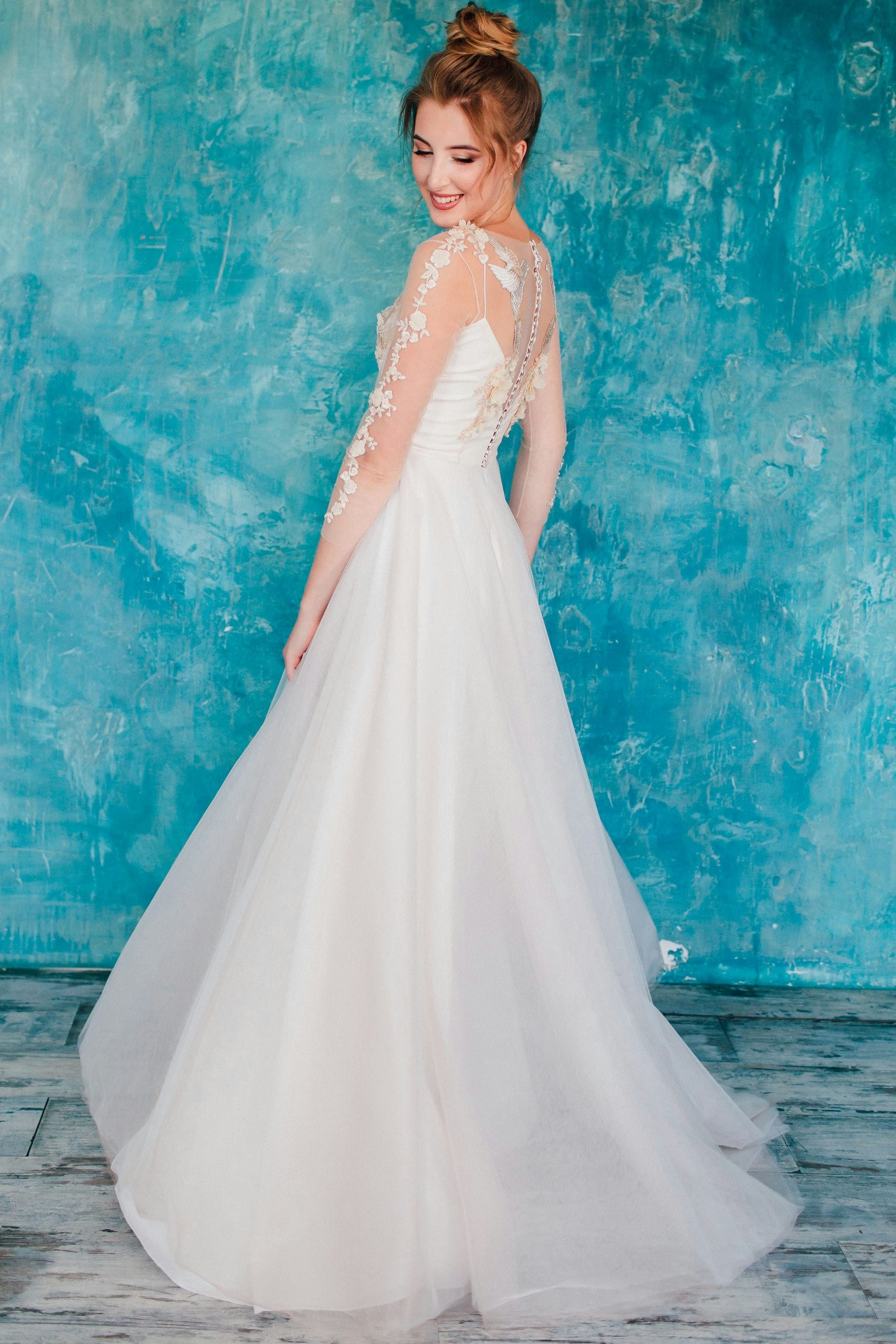 Свадебное платье ARIELA, коллекция THE ANGELS, бренд RARE BRIDAL, фото 3