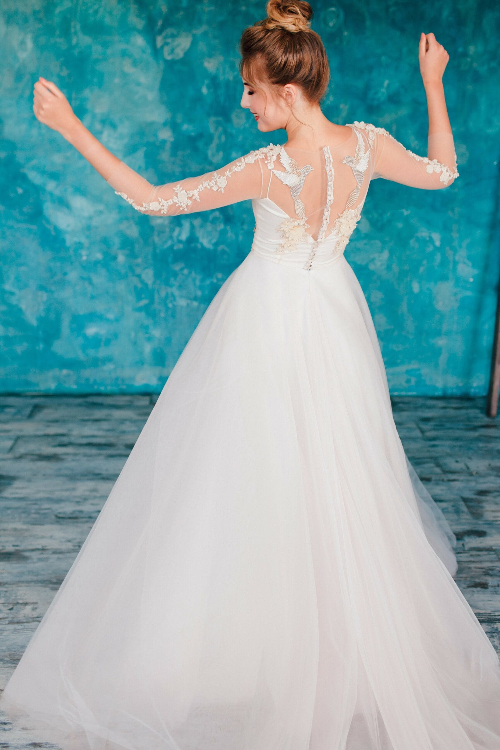 Свадебное платье ARIELA, коллекция THE ANGELS, бренд RARE BRIDAL, фото 4