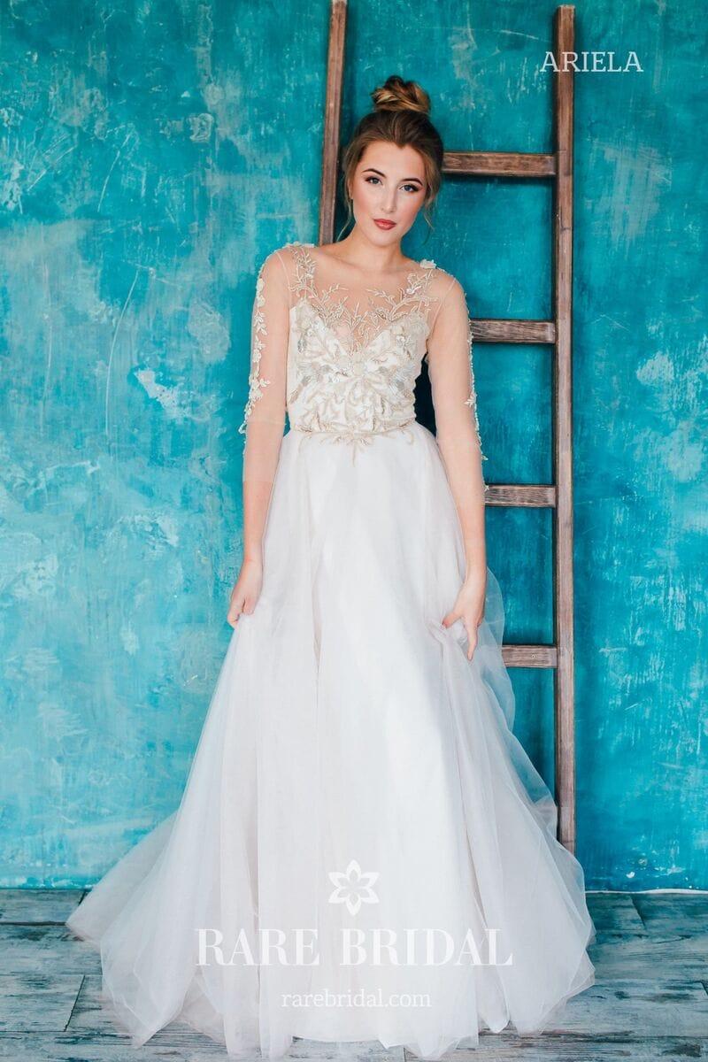 Свадебное платье ARIELA, коллекция THE ANGELS, бренд RARE BRIDAL, фото 5