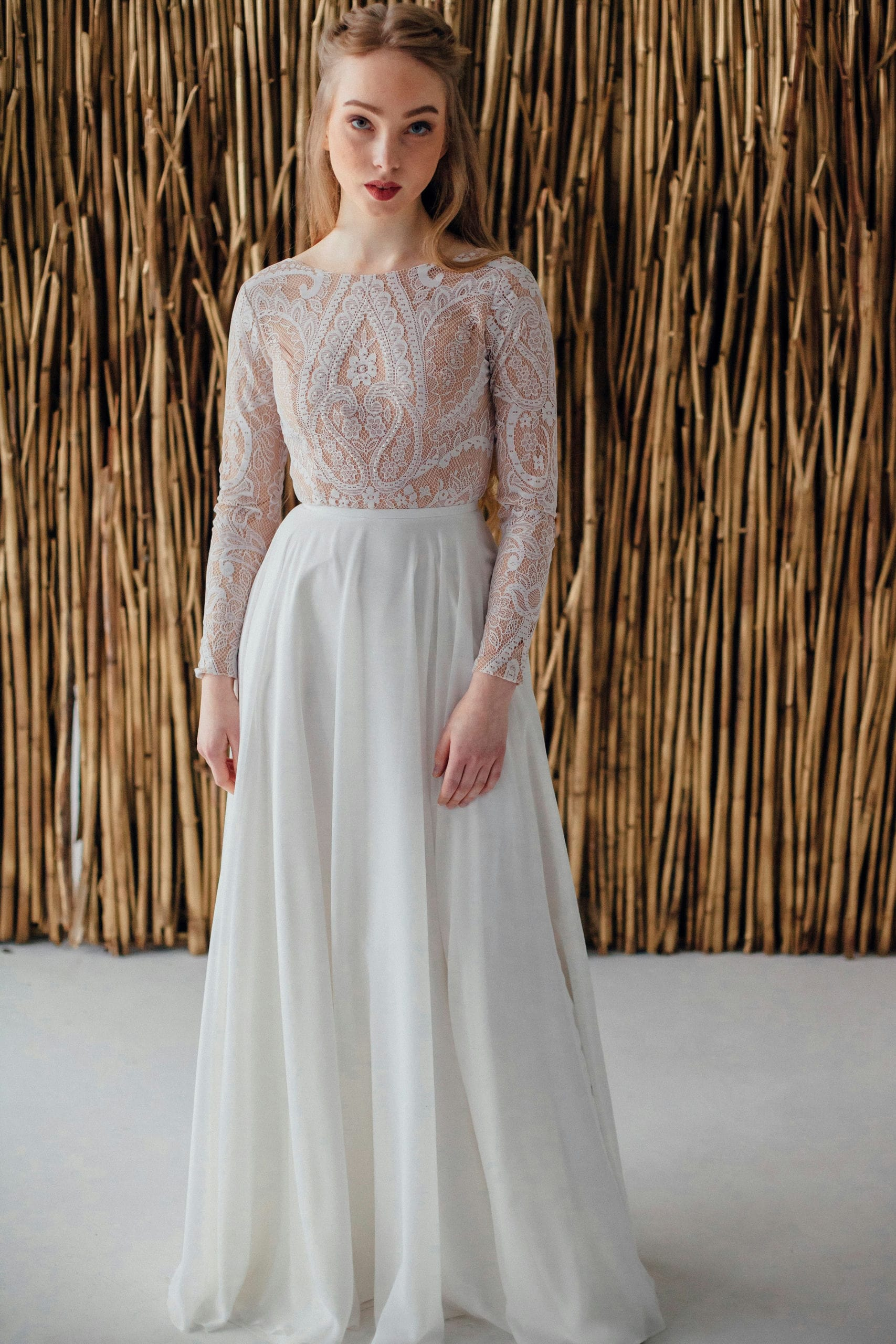 Свадебное платье GILL, коллекция MAGIC OF TENDERNESS, бренд LORA SONG, фото 1