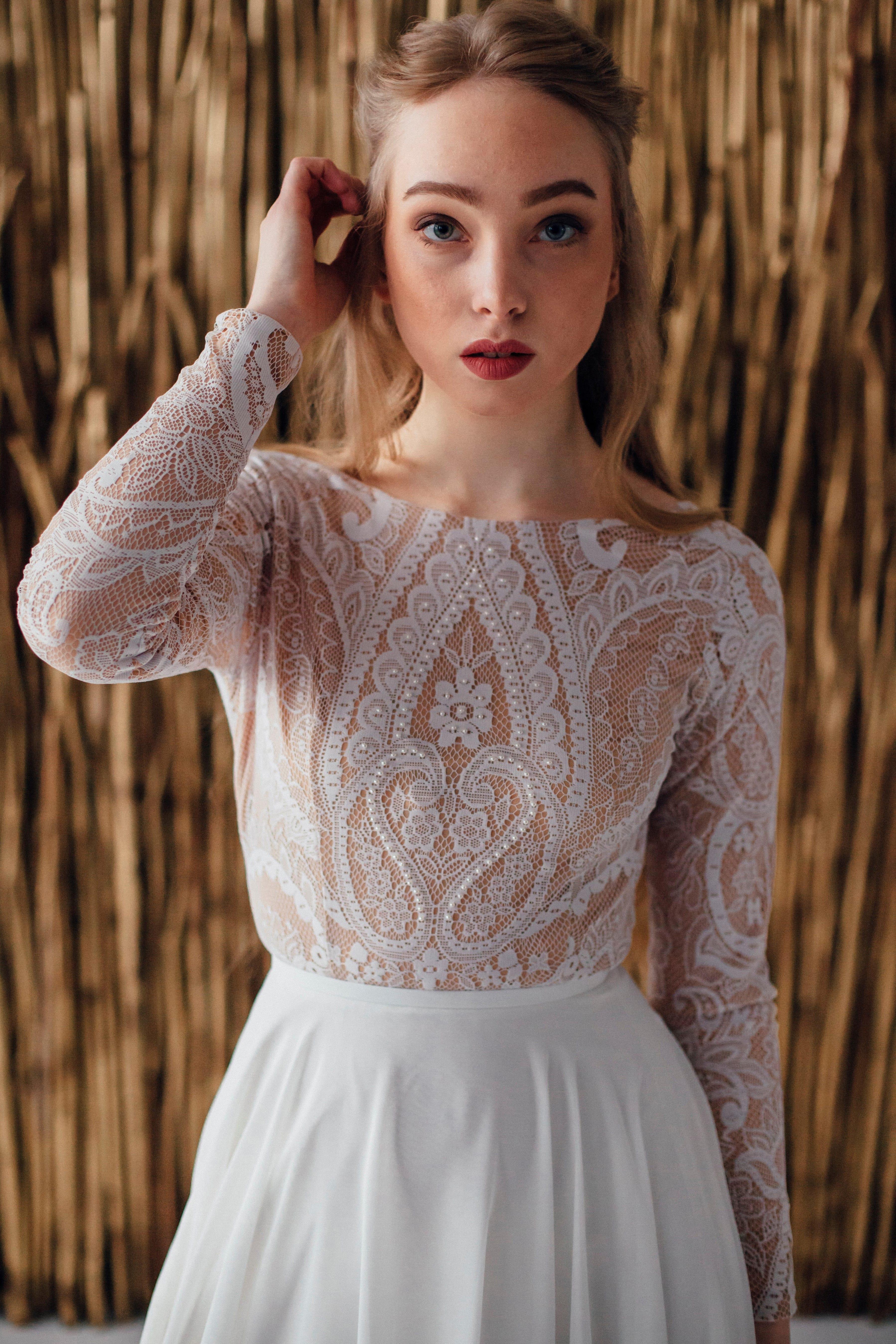 Свадебное платье GILL, коллекция MAGIC OF TENDERNESS, бренд LORA SONG, фото 2