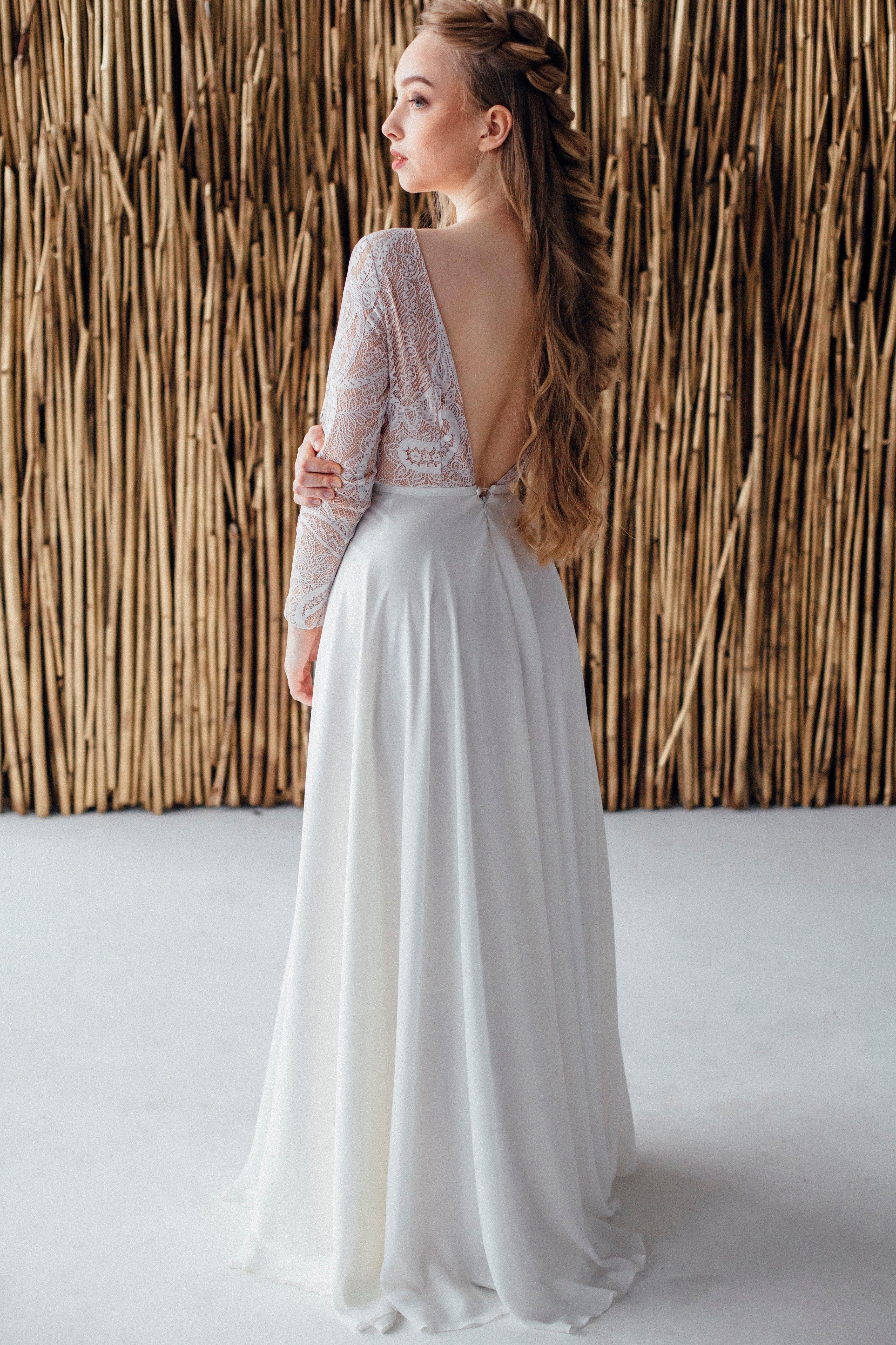 Свадебное платье GILL, коллекция MAGIC OF TENDERNESS, бренд LORA SONG, фото 4