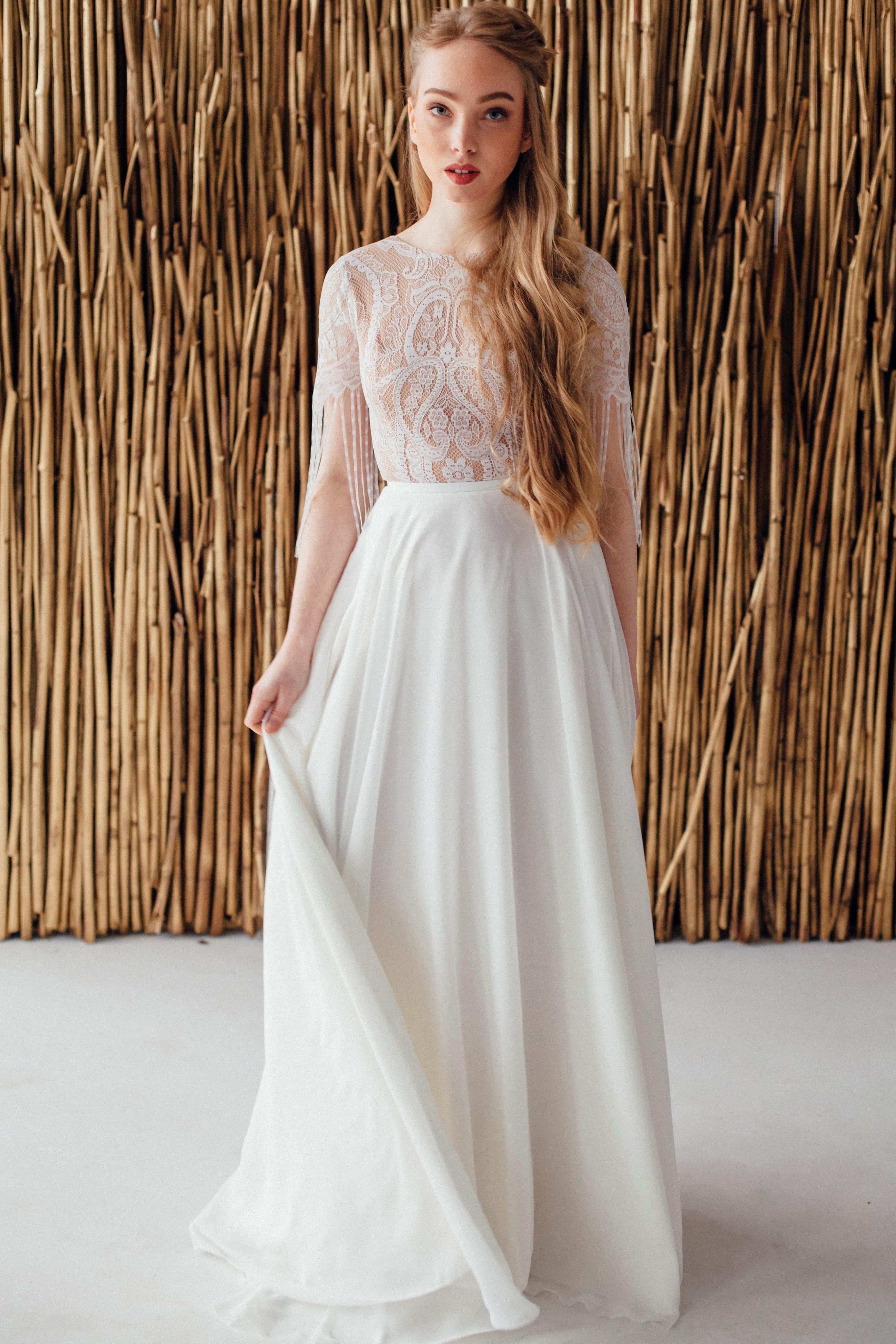 Свадебное платье FRIDA, коллекция MAGIC OF TENDERNESS, бренд LORA SONG, фото 1