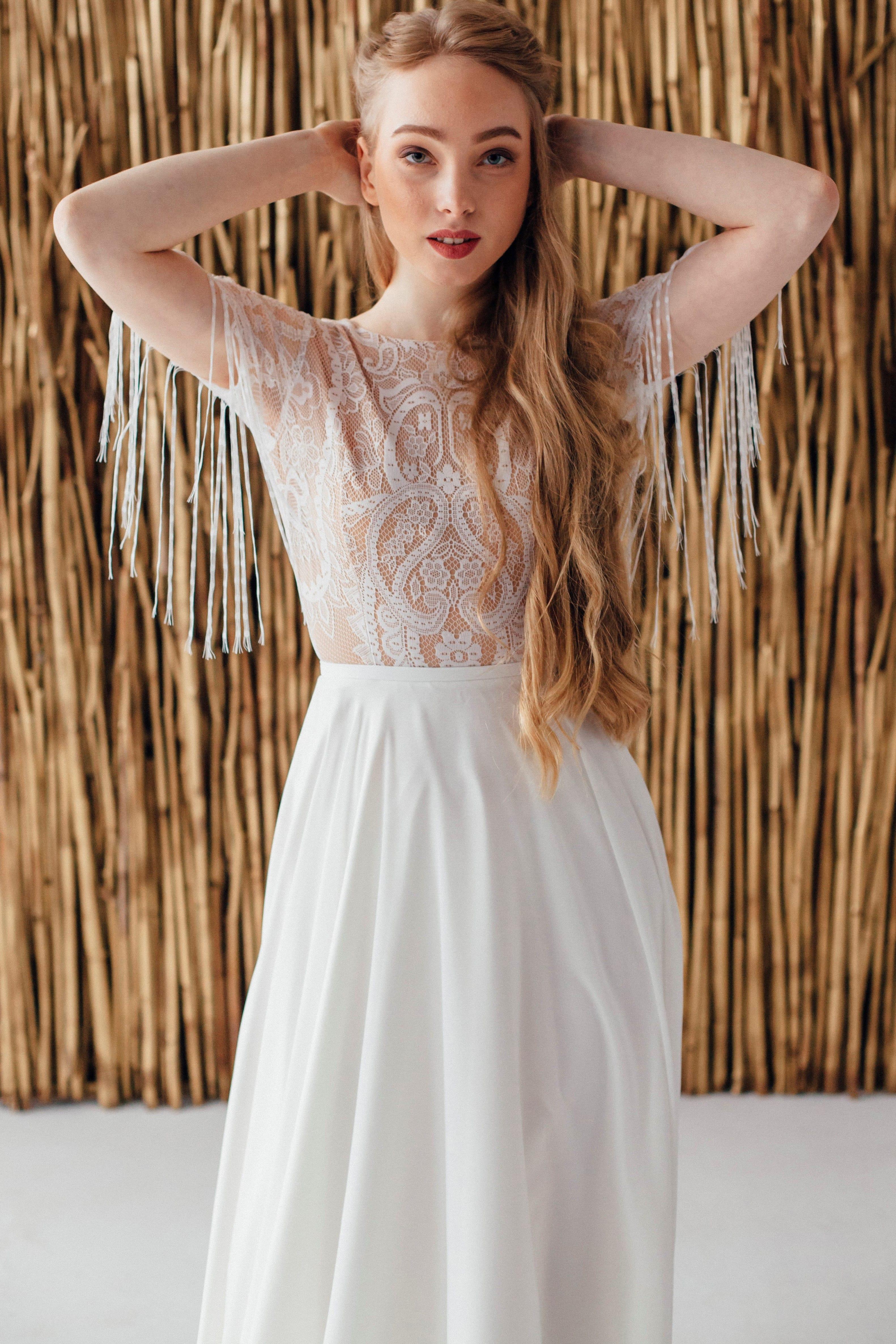 Свадебное платье FRIDA, коллекция MAGIC OF TENDERNESS, бренд LORA SONG, фото 2