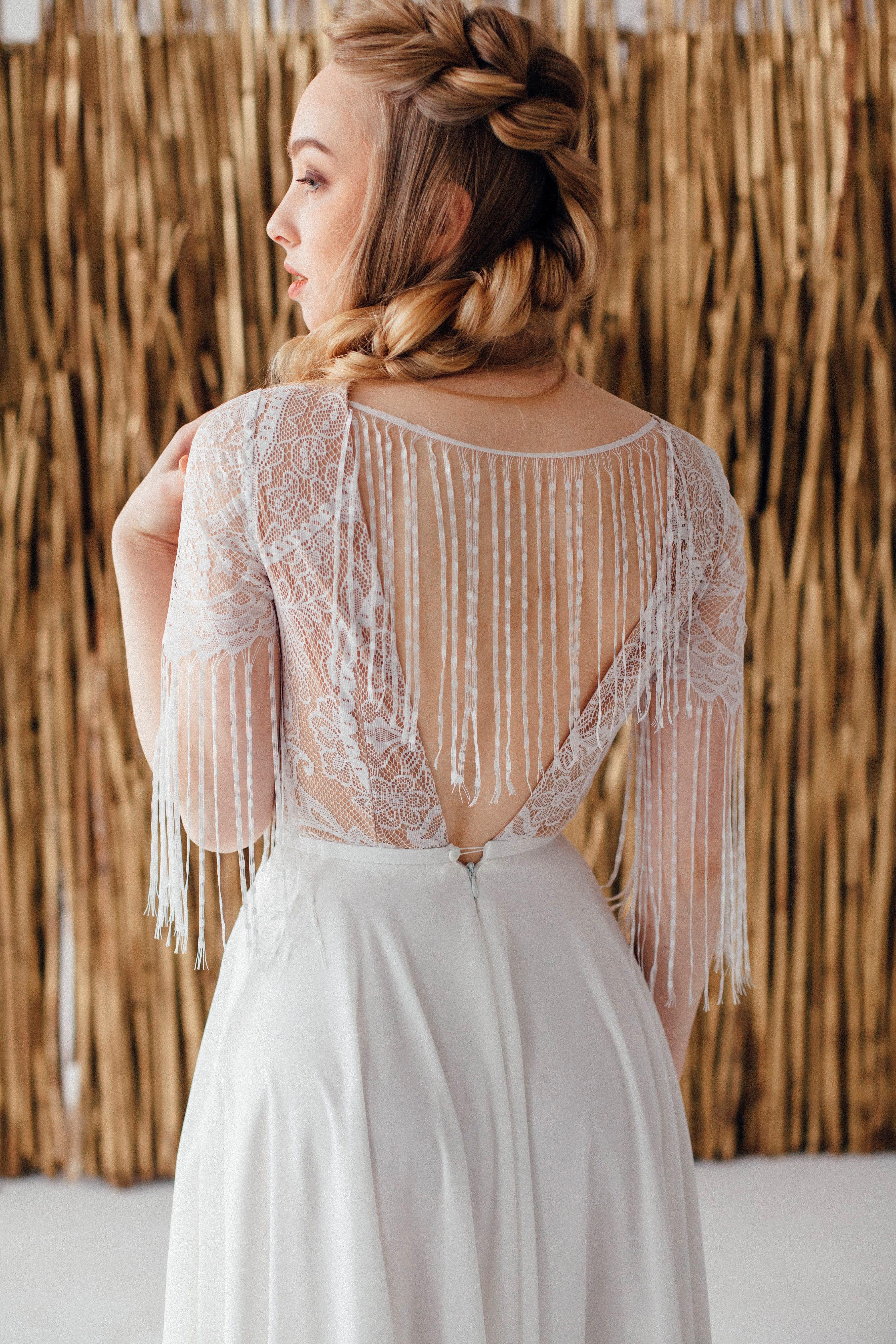 Свадебное платье FRIDA, коллекция MAGIC OF TENDERNESS, бренд LORA SONG, фото 3
