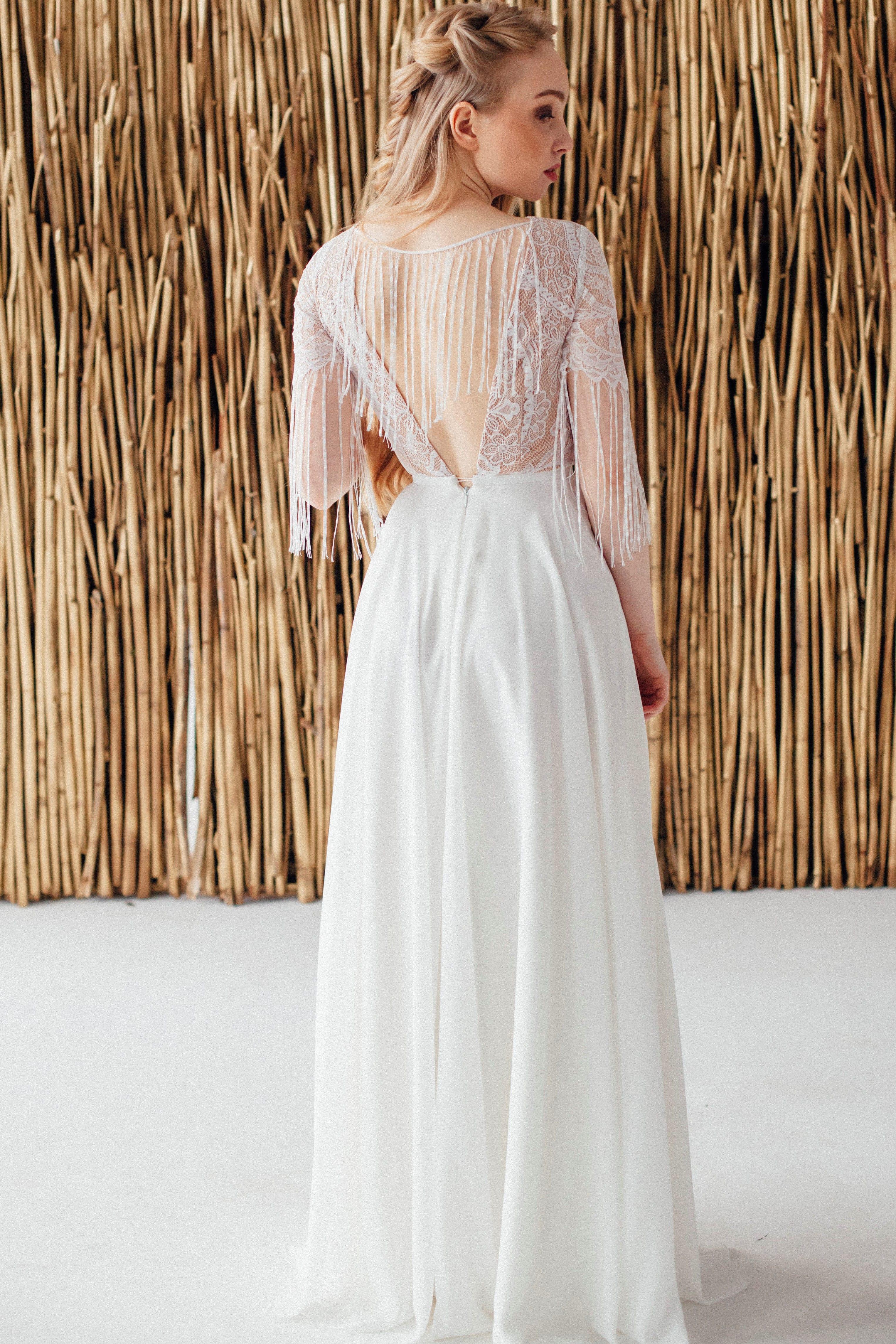 Свадебное платье FRIDA, коллекция MAGIC OF TENDERNESS, бренд LORA SONG, фото 4