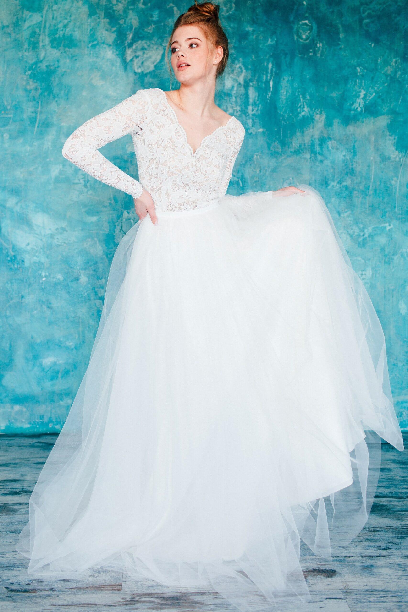 Свадебное платье SARIELA, коллекция THE ANGELS, бренд RARE BRIDAL, фото 3