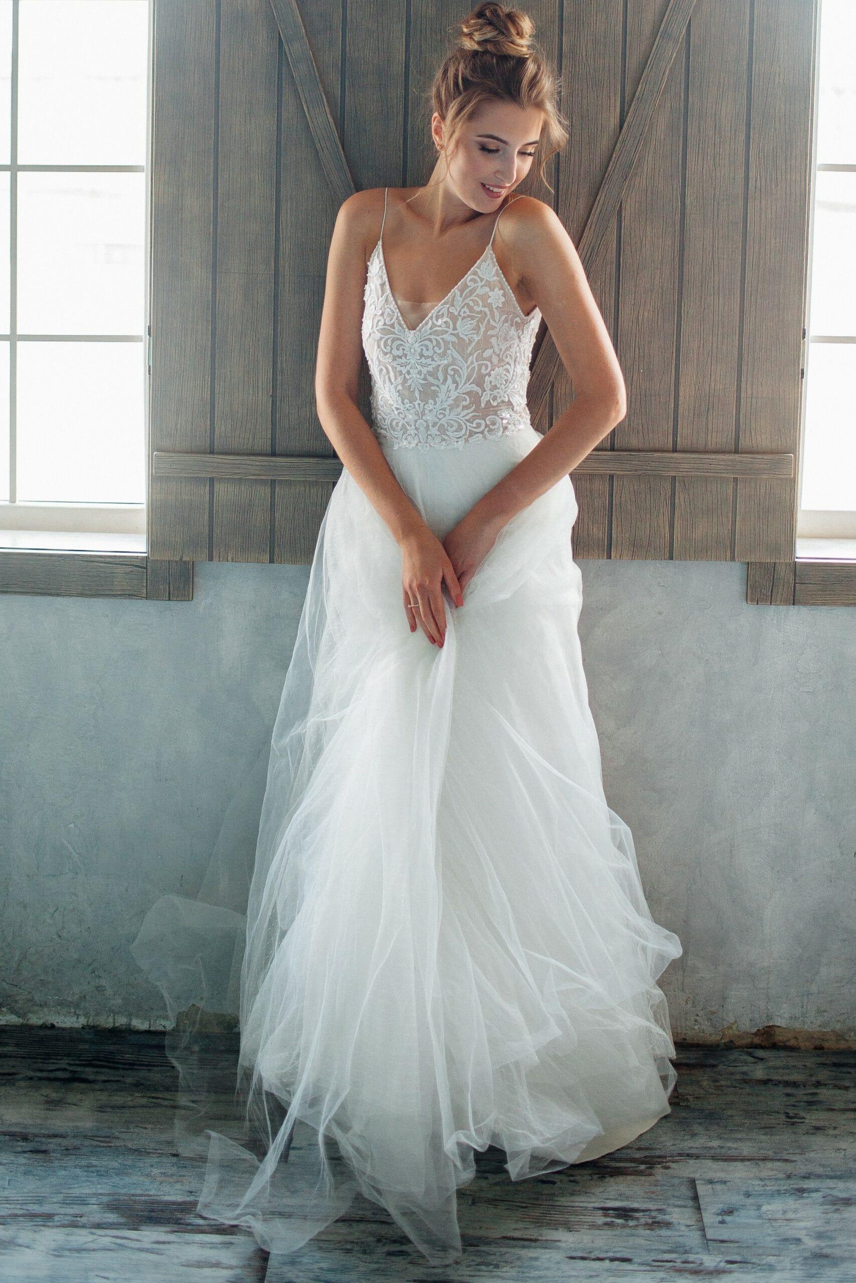 Свадебное платье ASTER, коллекция THE ANGELS, бренд RARE BRIDAL, фото 1