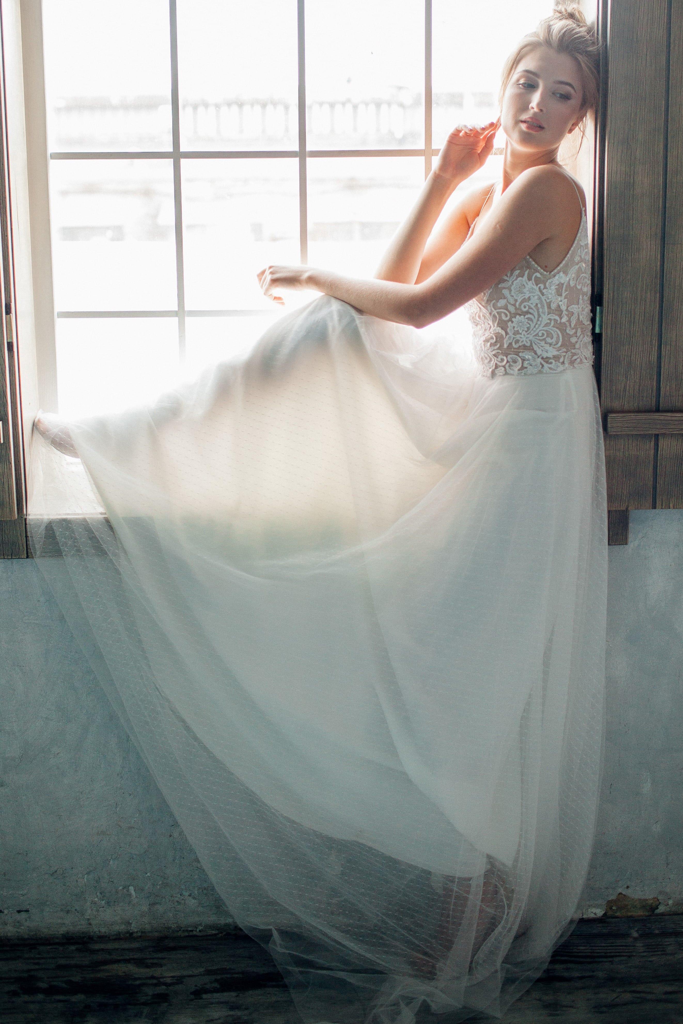Свадебное платье ASTER, коллекция THE ANGELS, бренд RARE BRIDAL, фото 2