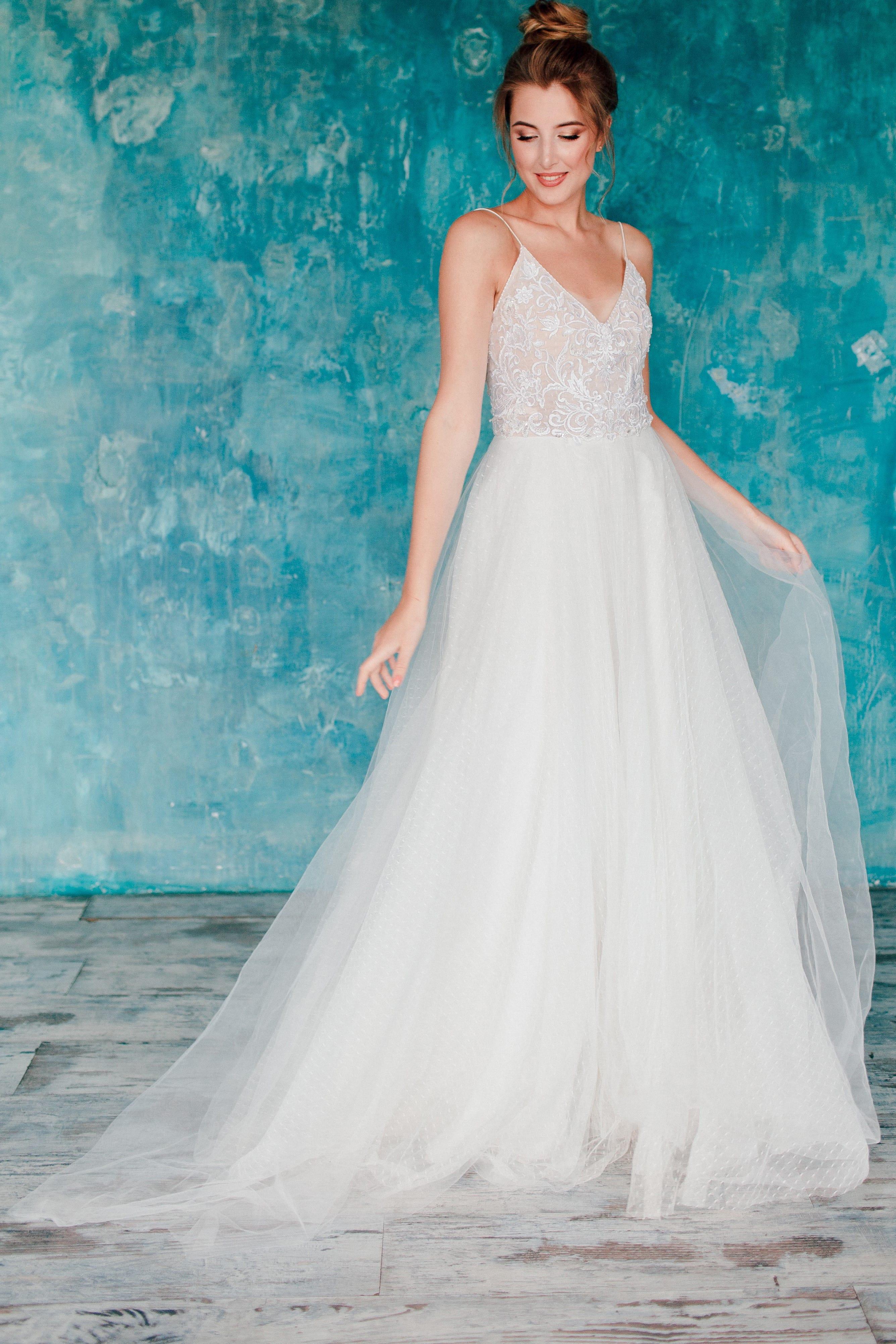 Свадебное платье ASTER, коллекция THE ANGELS, бренд RARE BRIDAL, фото 4