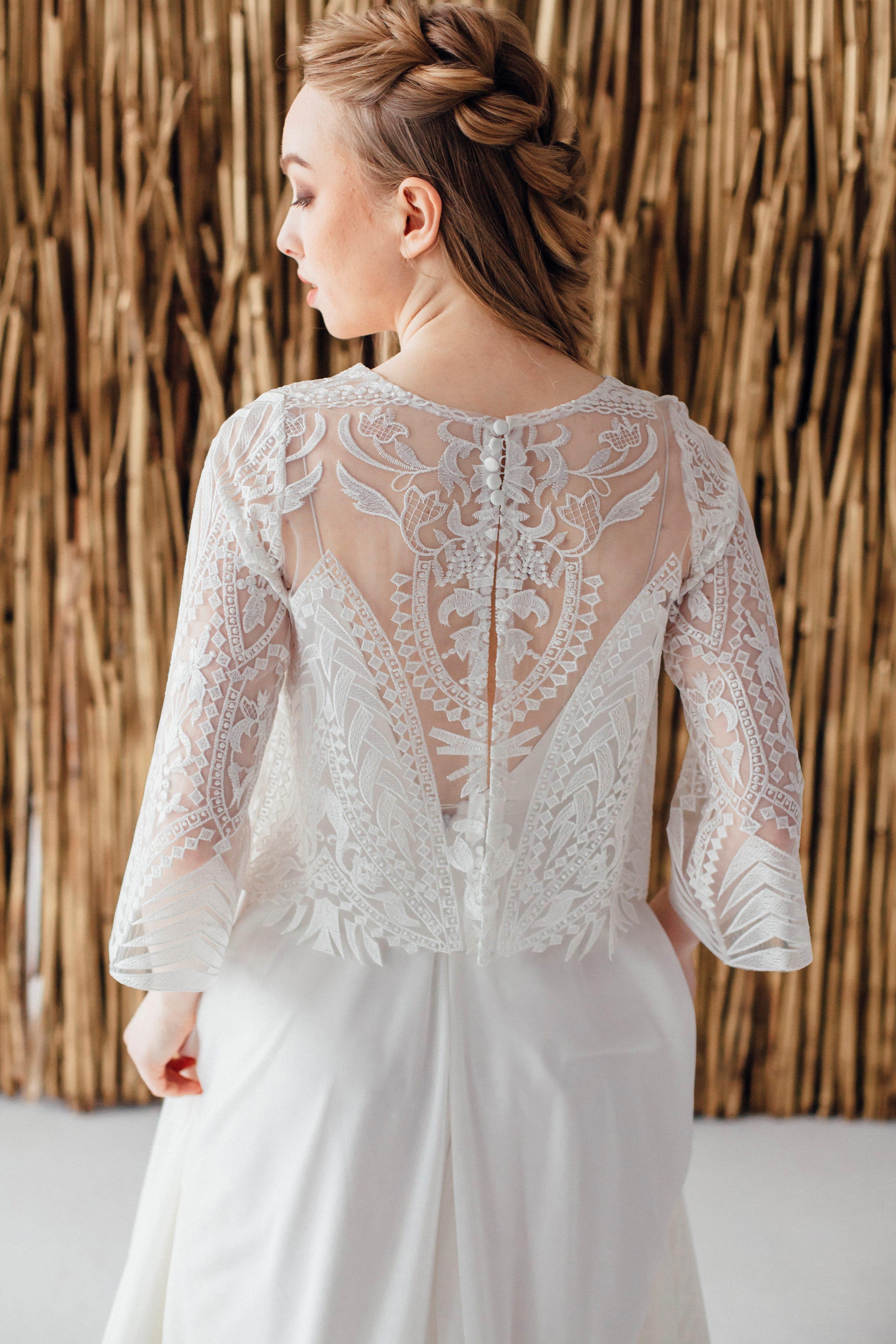 Свадебное платье CHRIS, коллекция MAGIC OF TENDERNESS, бренд LORA SONG, фото 2