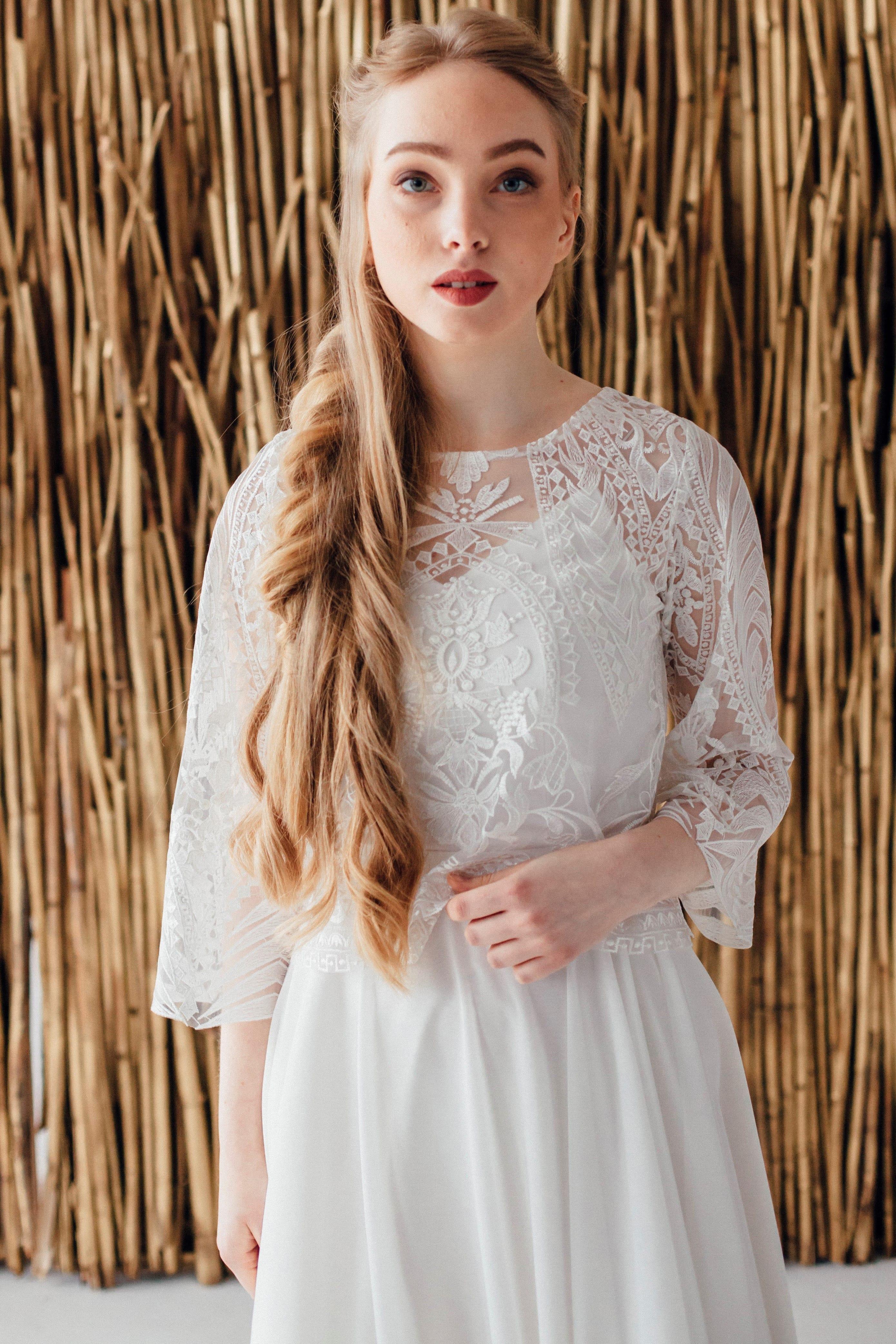 Свадебное платье CHRIS, коллекция MAGIC OF TENDERNESS, бренд LORA SONG, фото 3