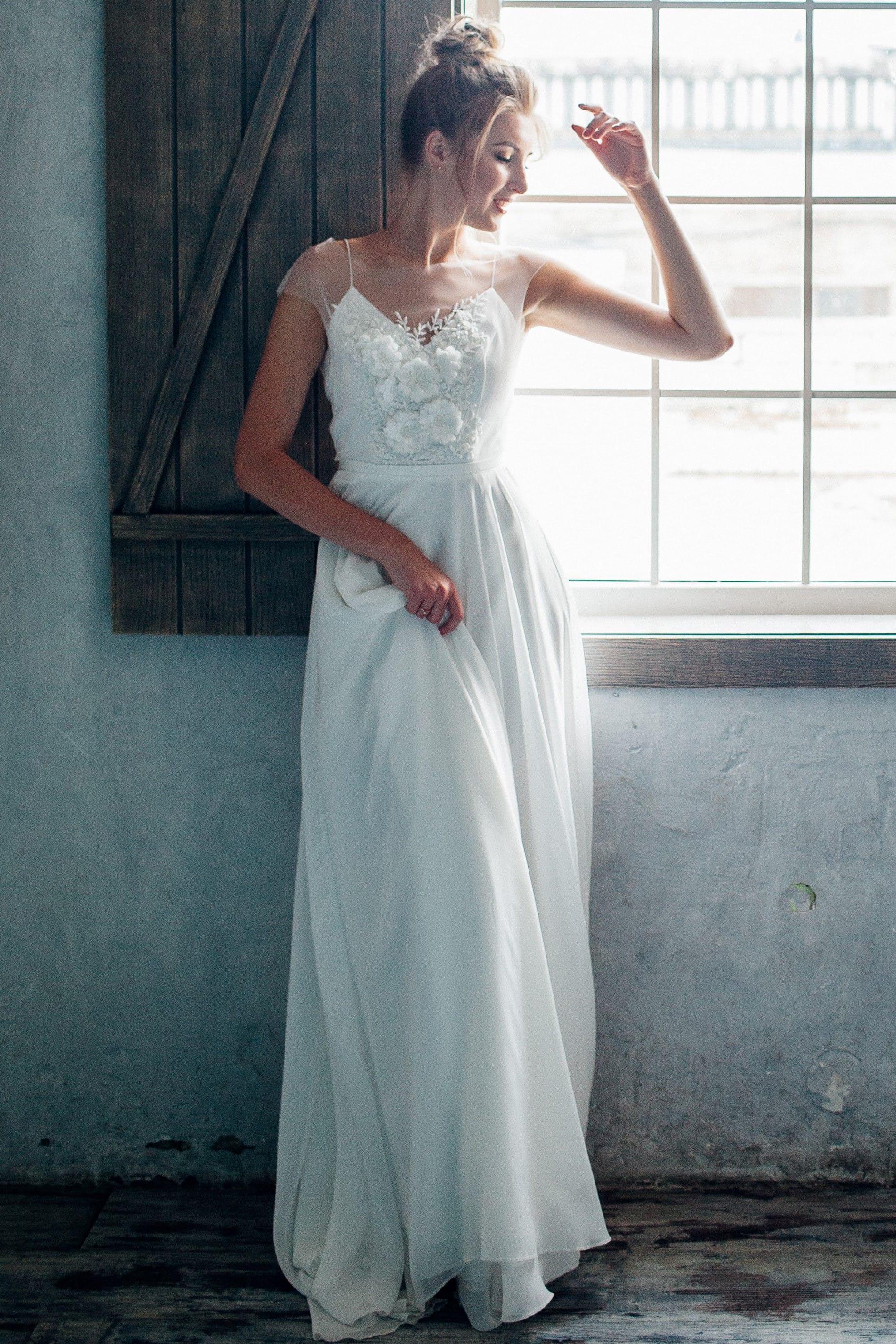 Свадебное платье ZARALLA, коллекция THE ANGELS, бренд RARE BRIDAL, фото 2