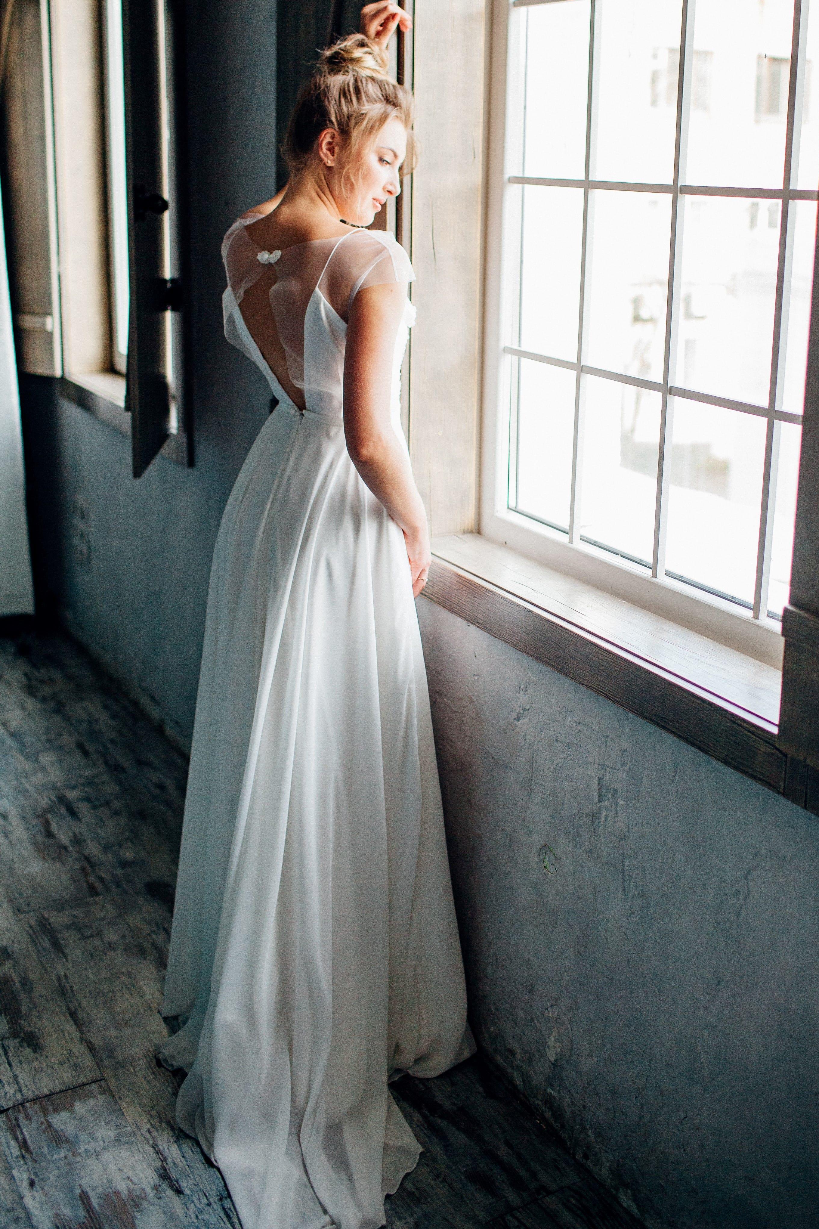 Свадебное платье ZARALLA, коллекция THE ANGELS, бренд RARE BRIDAL, фото 3