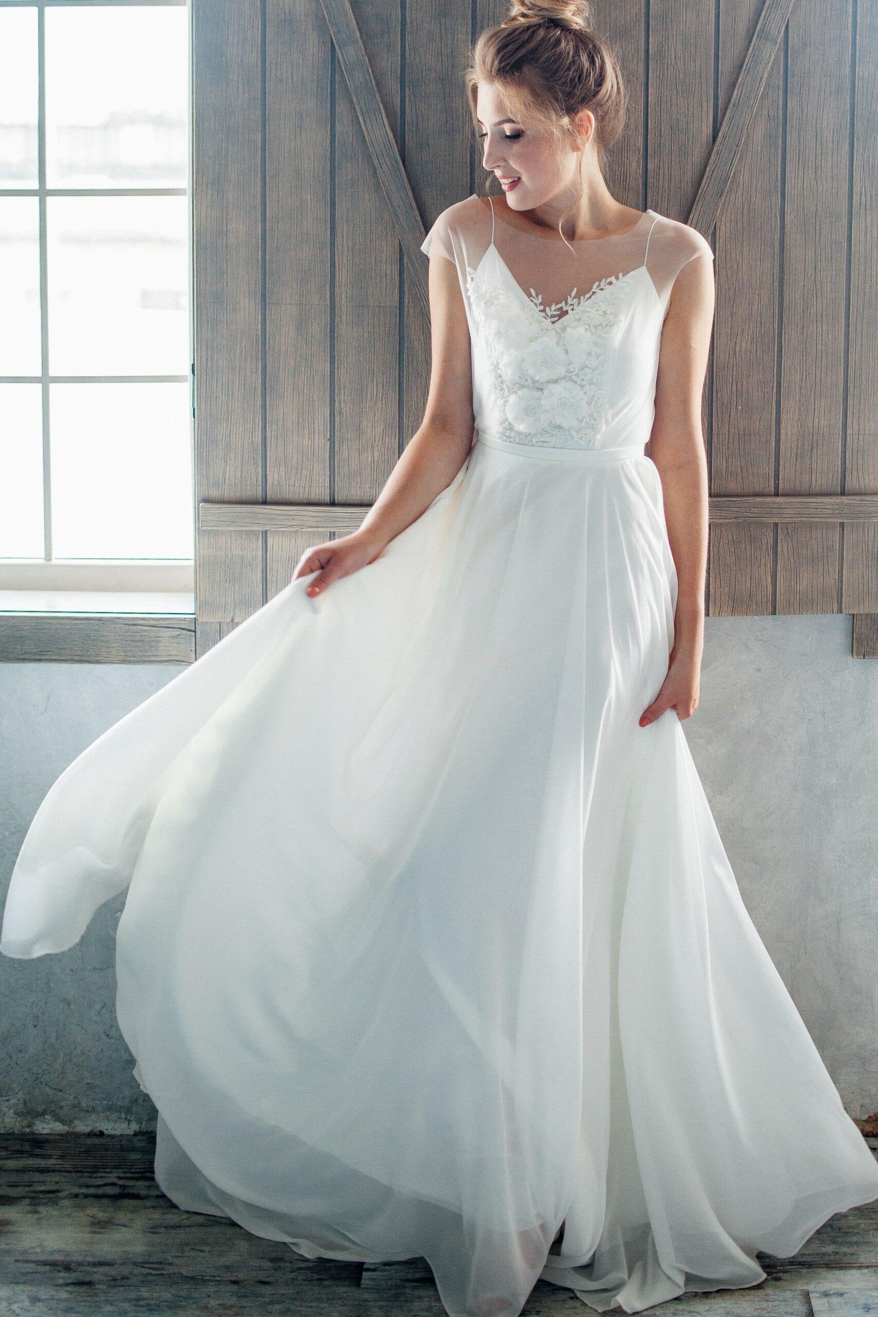 Свадебное платье ZARALLA, коллекция THE ANGELS, бренд RARE BRIDAL, фото 4