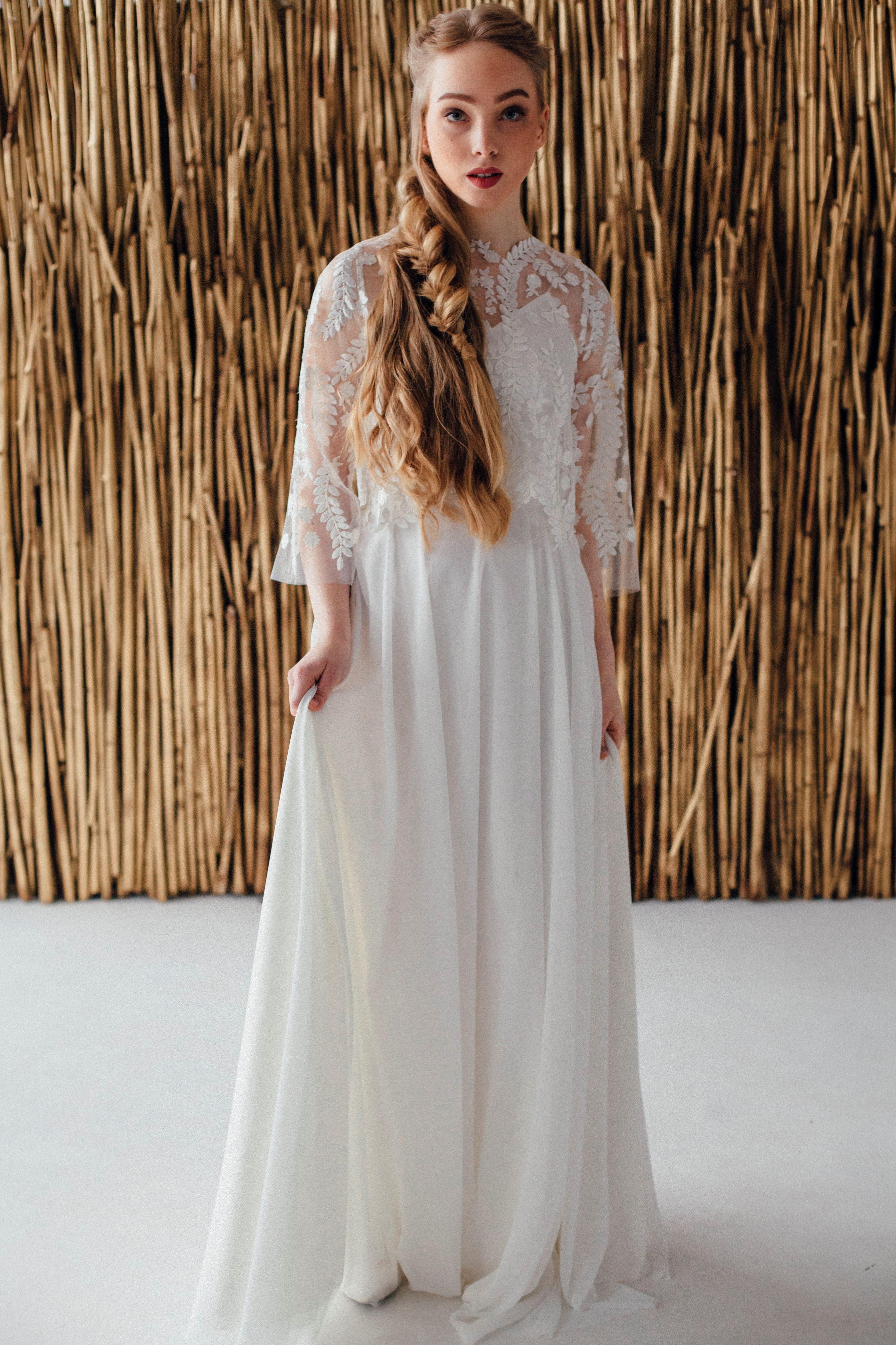 Свадебное платье ELSA, коллекция MAGIC OF TENDERNESS, бренд LORA SONG, фото 1