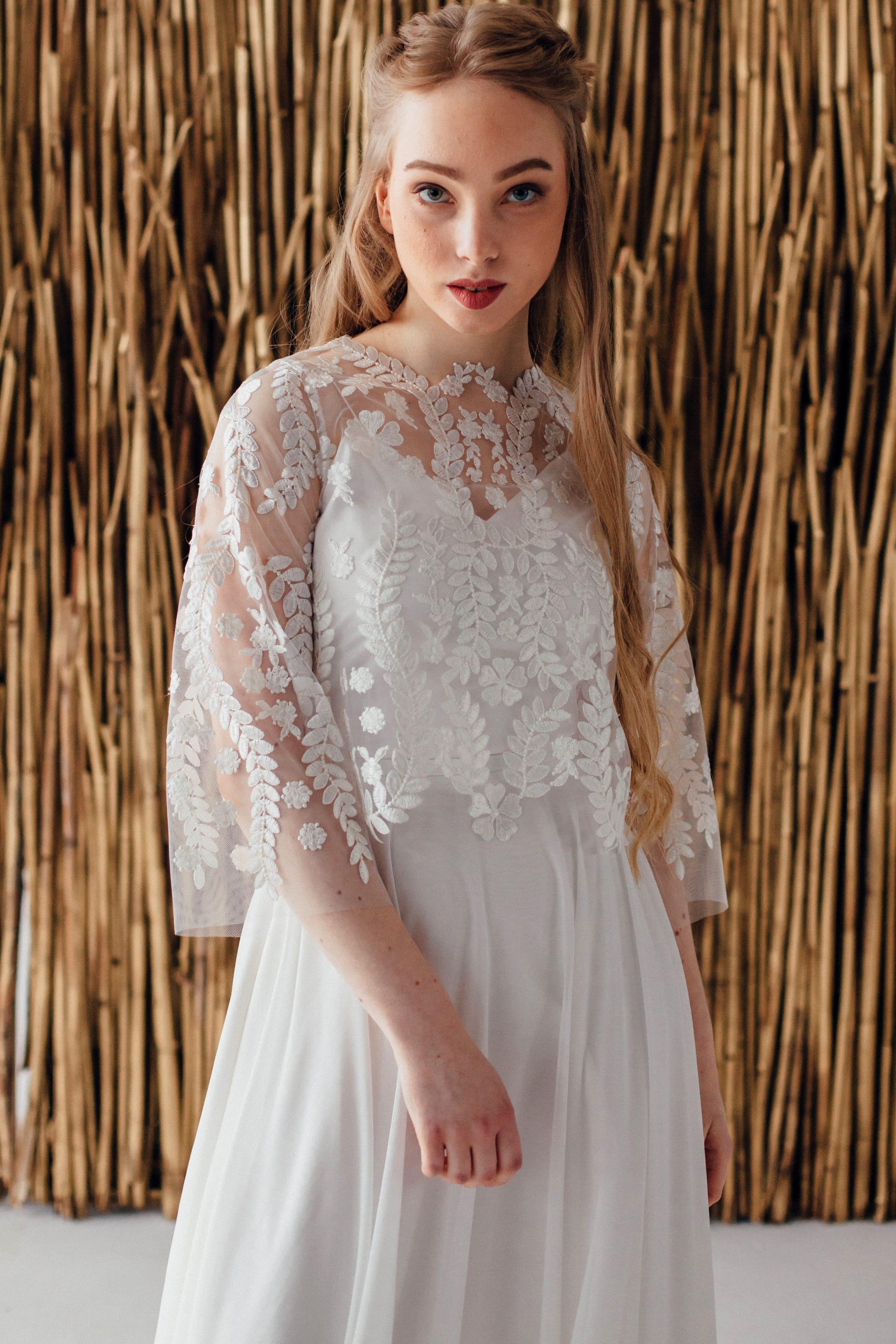Свадебное платье ELSA, коллекция MAGIC OF TENDERNESS, бренд LORA SONG, фото 2