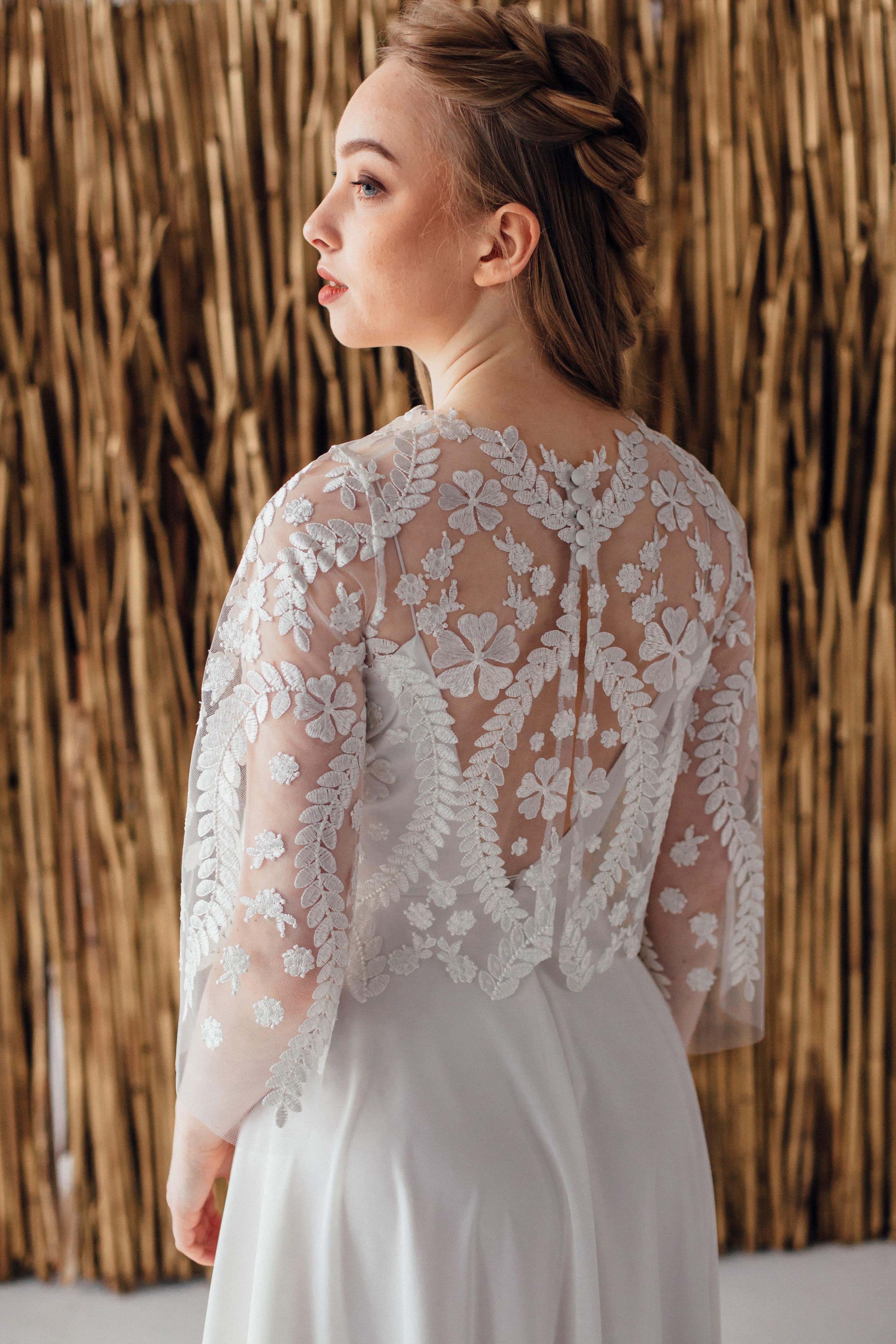 Свадебное платье ELSA, коллекция MAGIC OF TENDERNESS, бренд LORA SONG, фото 3