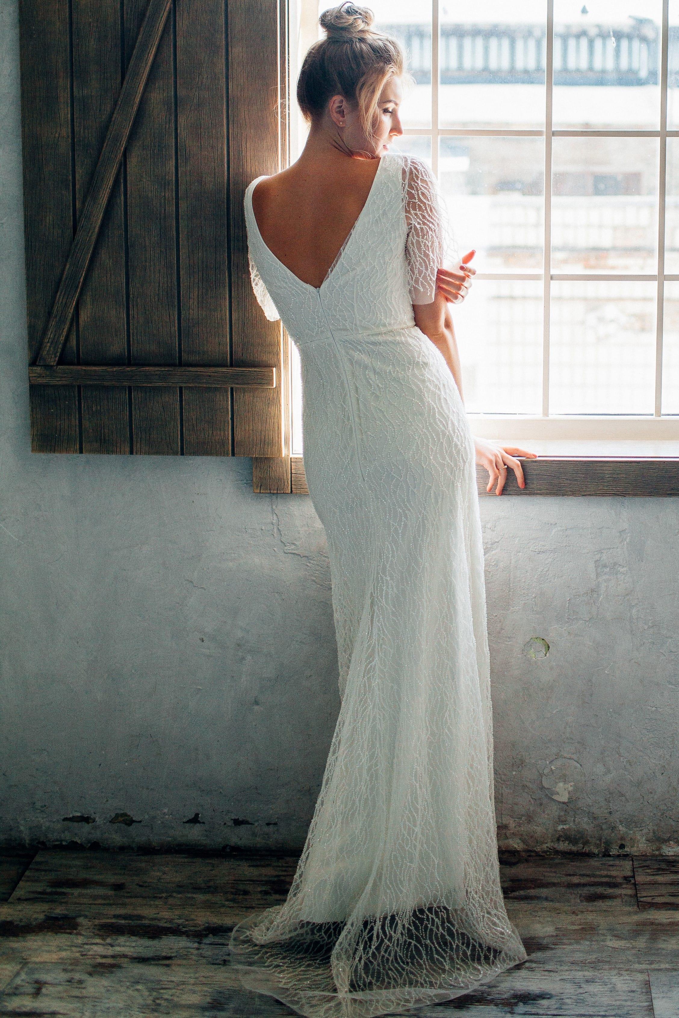 Свадебное платье HADARIELA, коллекция THE ANGELS, бренд RARE BRIDAL, фото 2