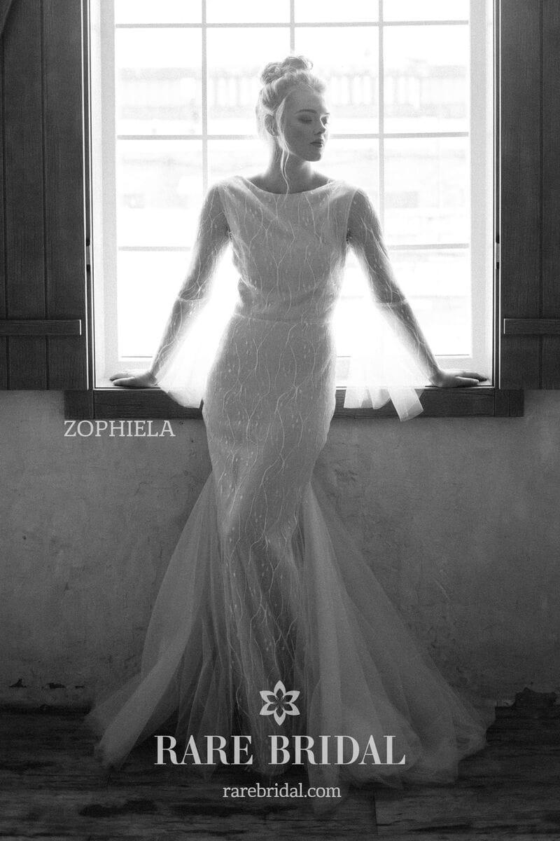 Свадебное платье ZOPHIELA, коллекция THE ANGELS, бренд RARE BRIDAL, фото 2