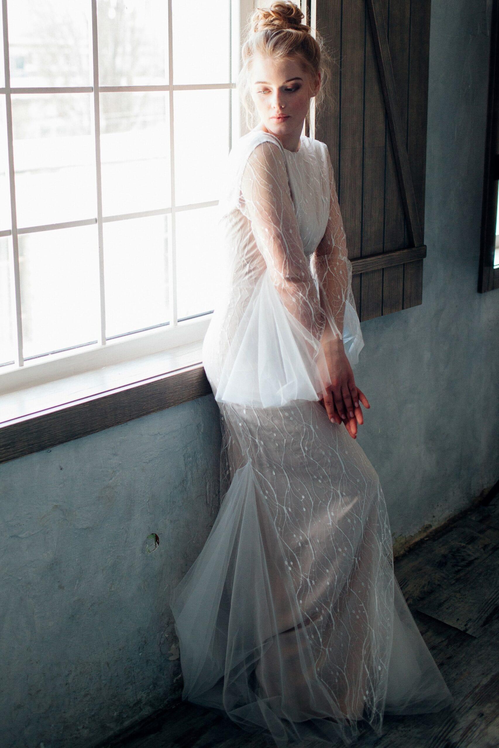Свадебное платье ZOPHIELA, коллекция THE ANGELS, бренд RARE BRIDAL, фото 3