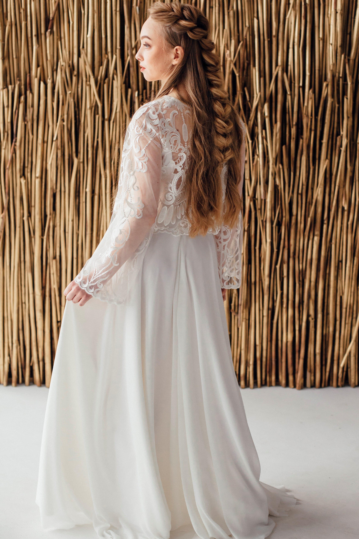 Свадебное платье ESTER, коллекция MAGIC OF TENDERNESS, бренд LORA SONG, фото 3
