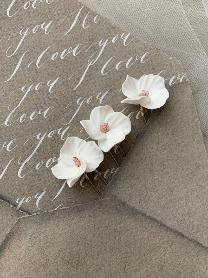 Набор (3 шт.) цветочных шпилек, артикул 34090002, фото 4