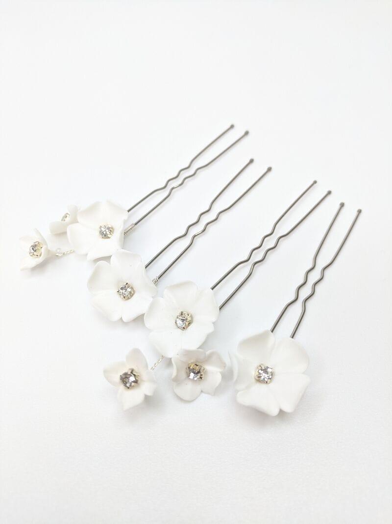 Набор (3шт.) цветочных шпилек