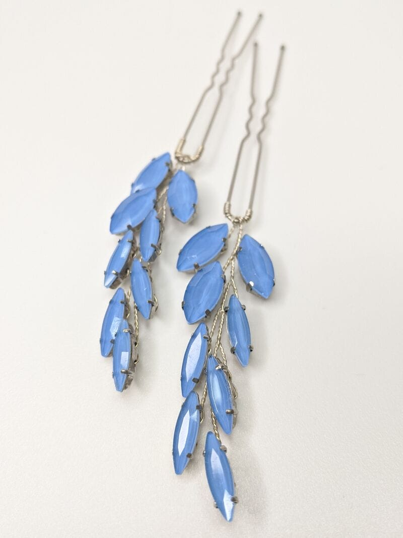 Голубая шпилька для волос, артикул 34250003, фото 2