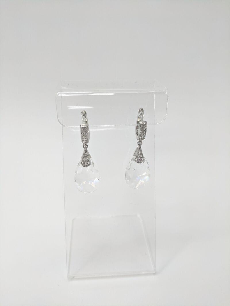 Свадебные серьги «Кристалл», артикул 34260003, фото 1