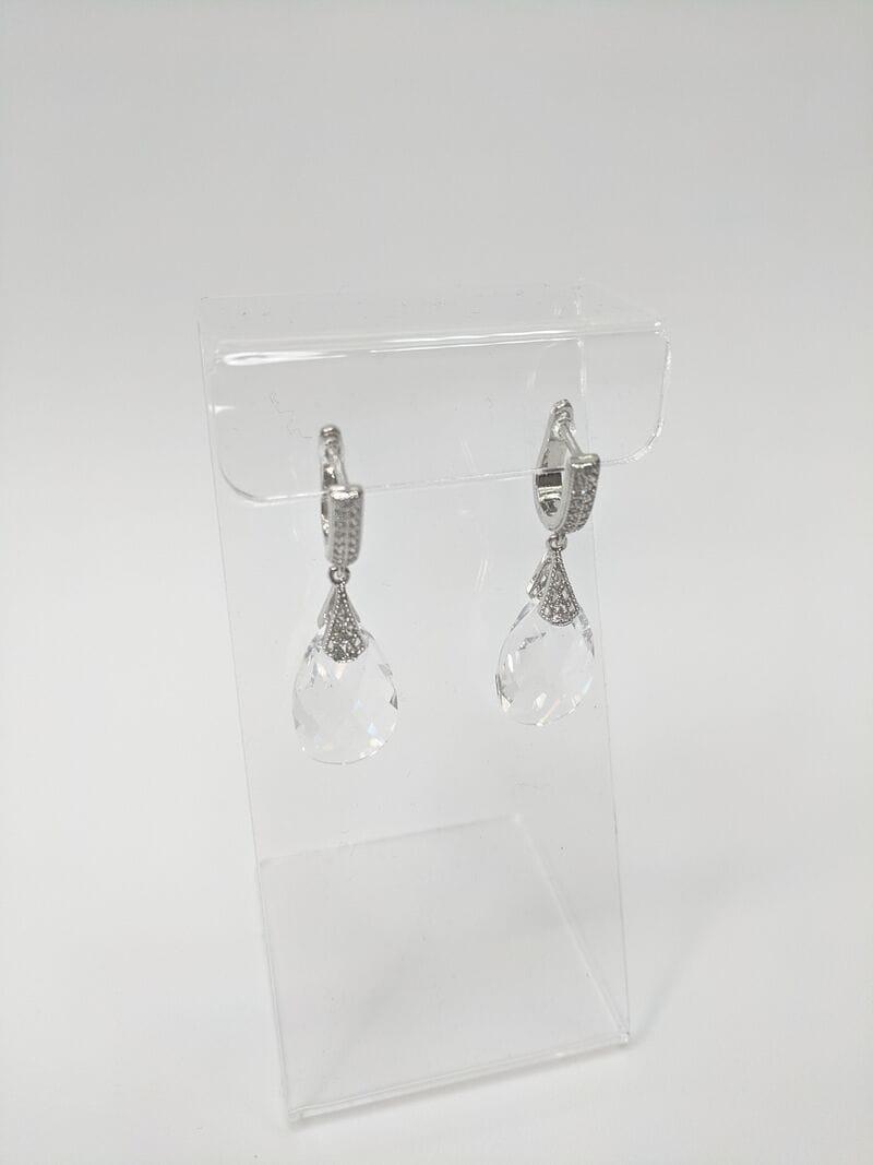 Свадебные серьги «Кристалл», артикул 34260003, фото 4