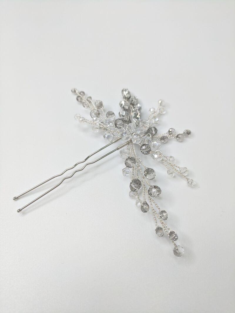 Набор украшений «Серьги с кристаллами и шпилька», артикул 34290003, фото 3
