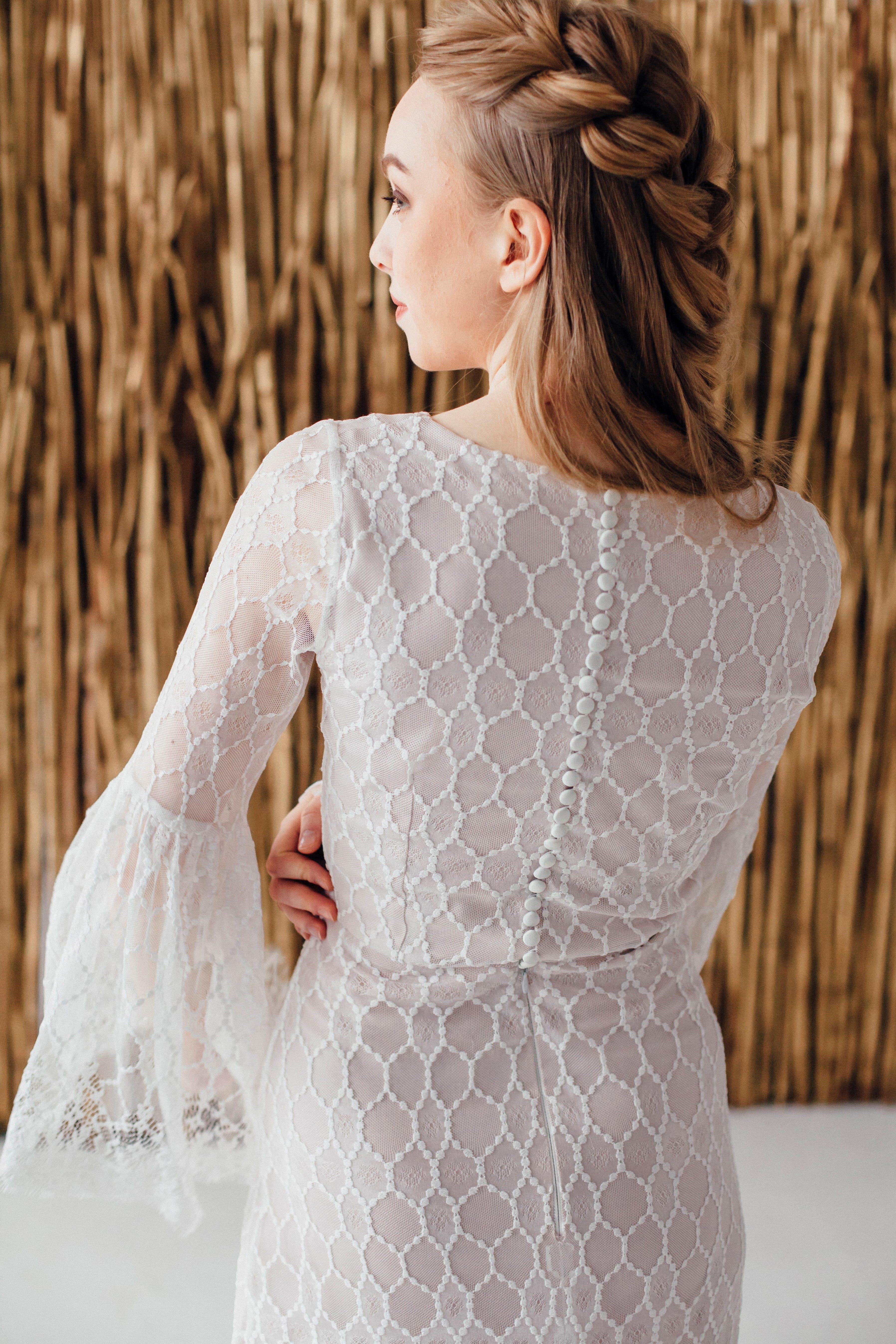 Свадебное платье EDISON, коллекция MAGIC OF TENDERNESS, бренд LORA SONG, фото 3
