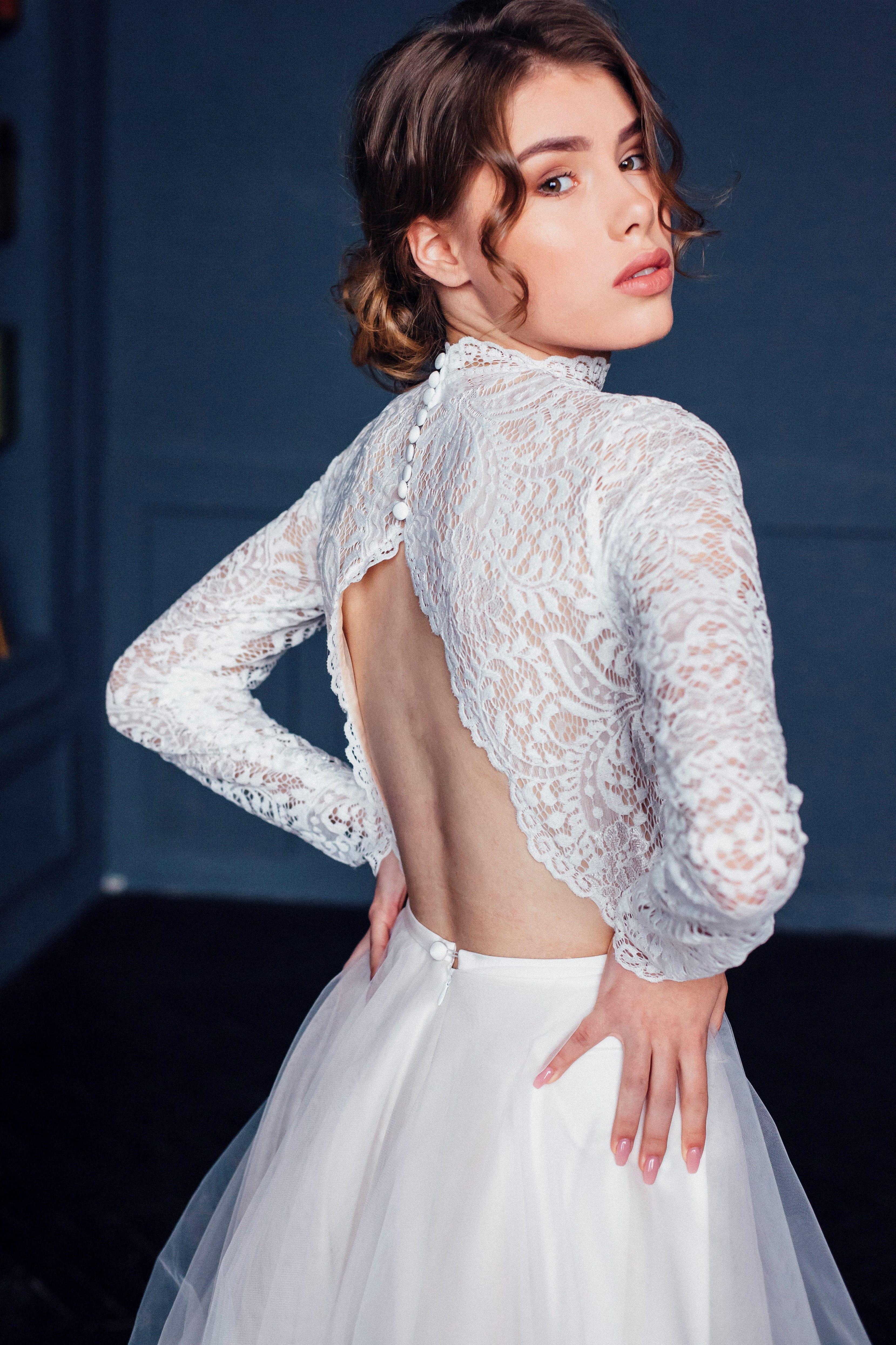 Свадебное платье ELLA, коллекция THE ABSOLUTE LOVE, бренд RARE BRIDAL, фото 4