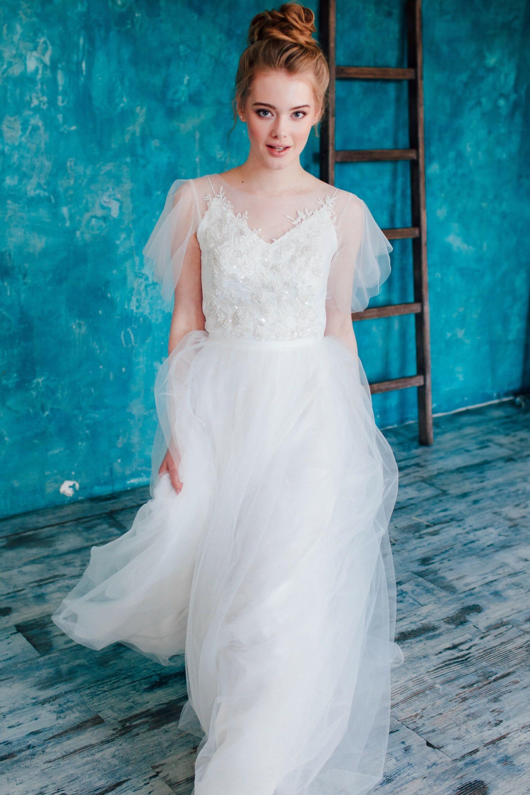 Свадебное платье EXOUSIA, коллекция THE ANGELS, бренд RARE BRIDAL, фото 2