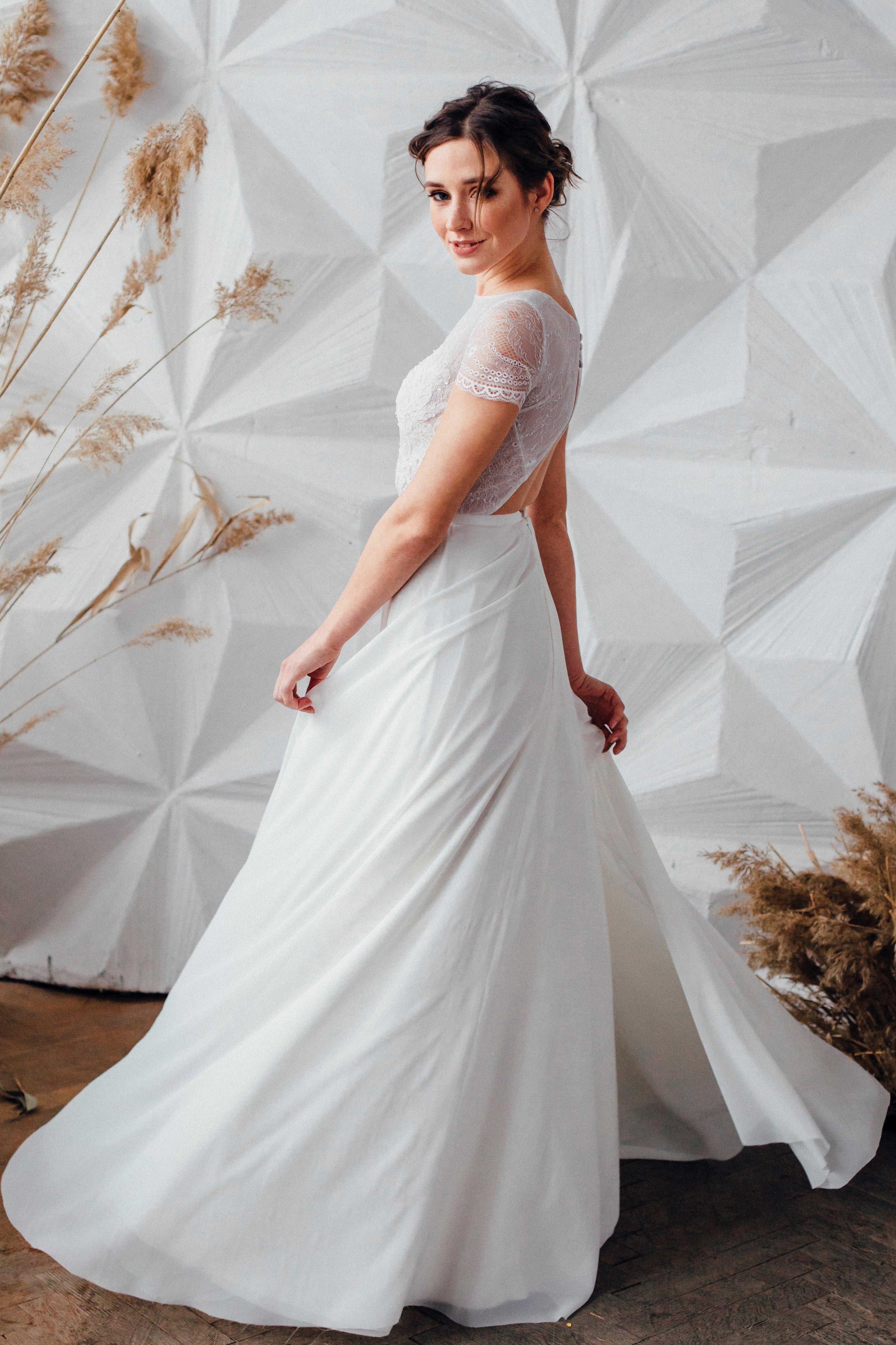 Свадебное платье BOZENA, коллекция MAGIC OF TENDERNESS, бренд LORA SONG, фото 4