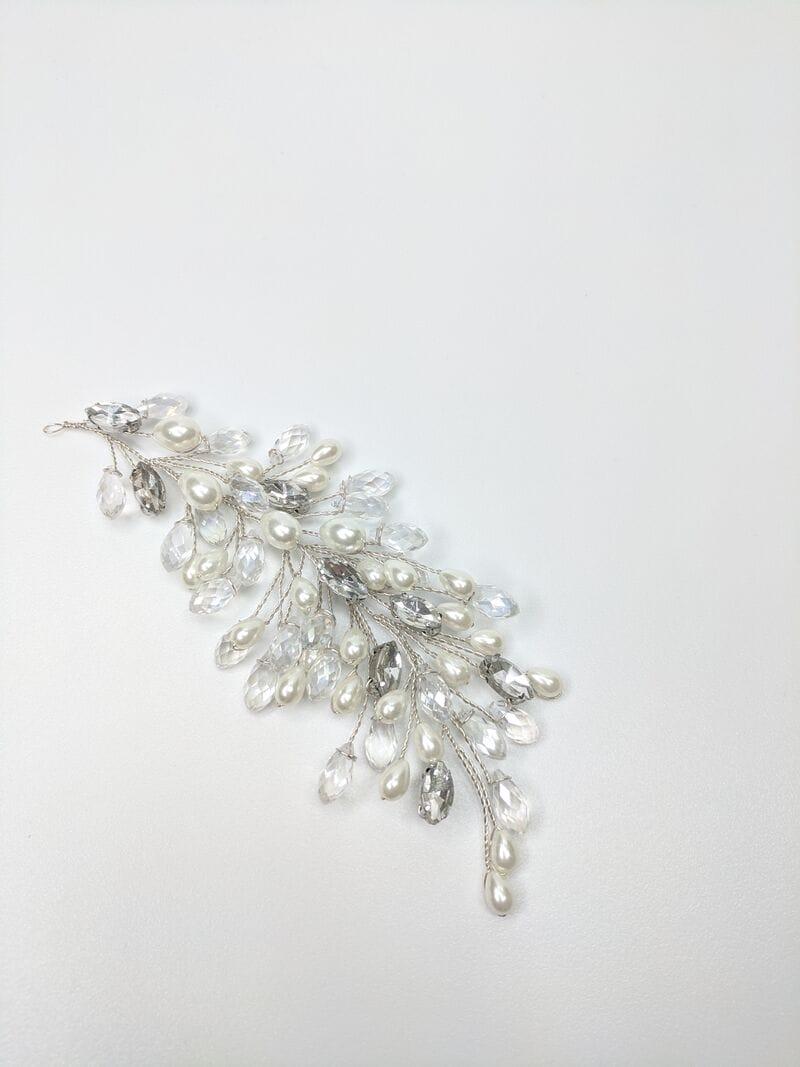 Свадебное украшение для волос веточки, артикул 5654010, фото №1