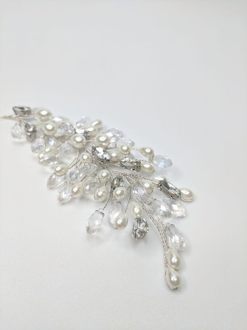 Свадебное украшение для волос веточки, артикул 5654010, фото №2